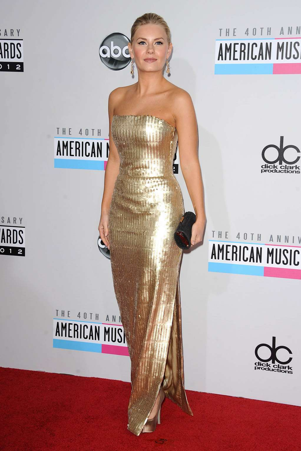 Elisha Cuthbert American Music Awards in Los Angeles