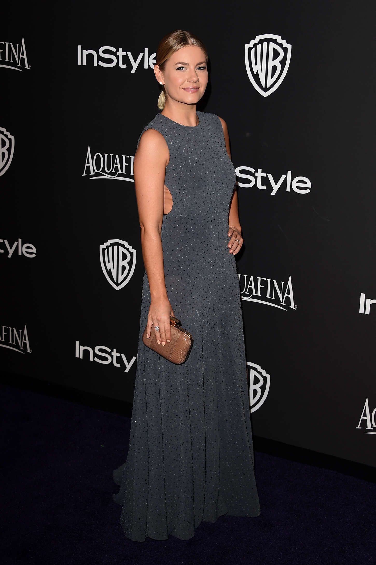 Elisha Cuthbert InStyle And Warner Bros Golden Globes Party in Beverly Hills