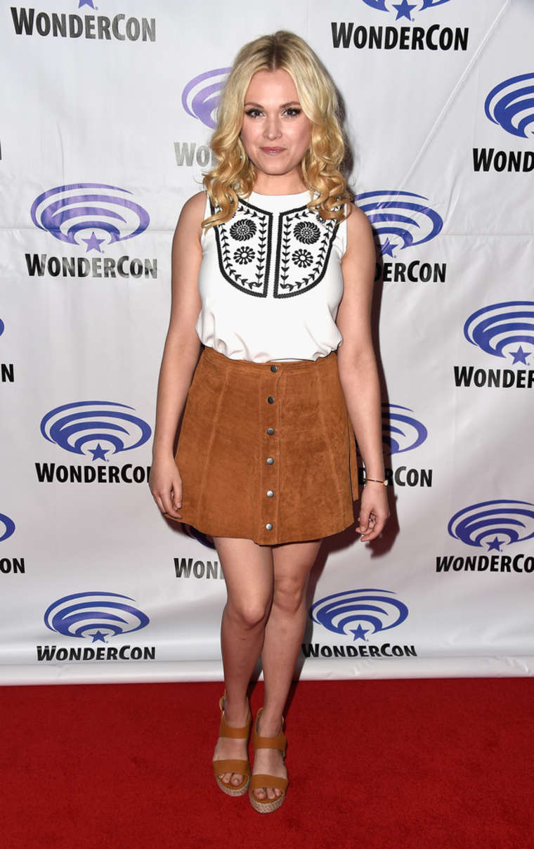 Eliza Taylor The Panel at WonderCon in Los Angeles