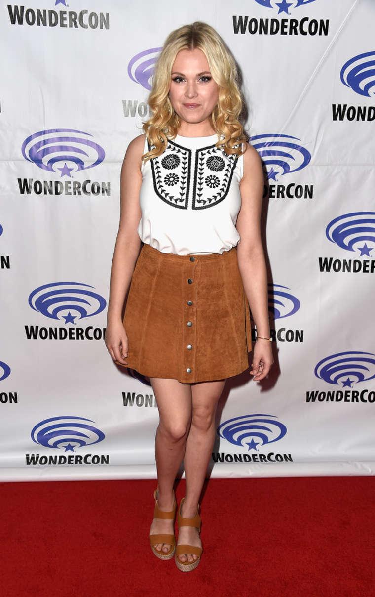 Eliza Taylor The Panel at WonderCon in Los Angeles