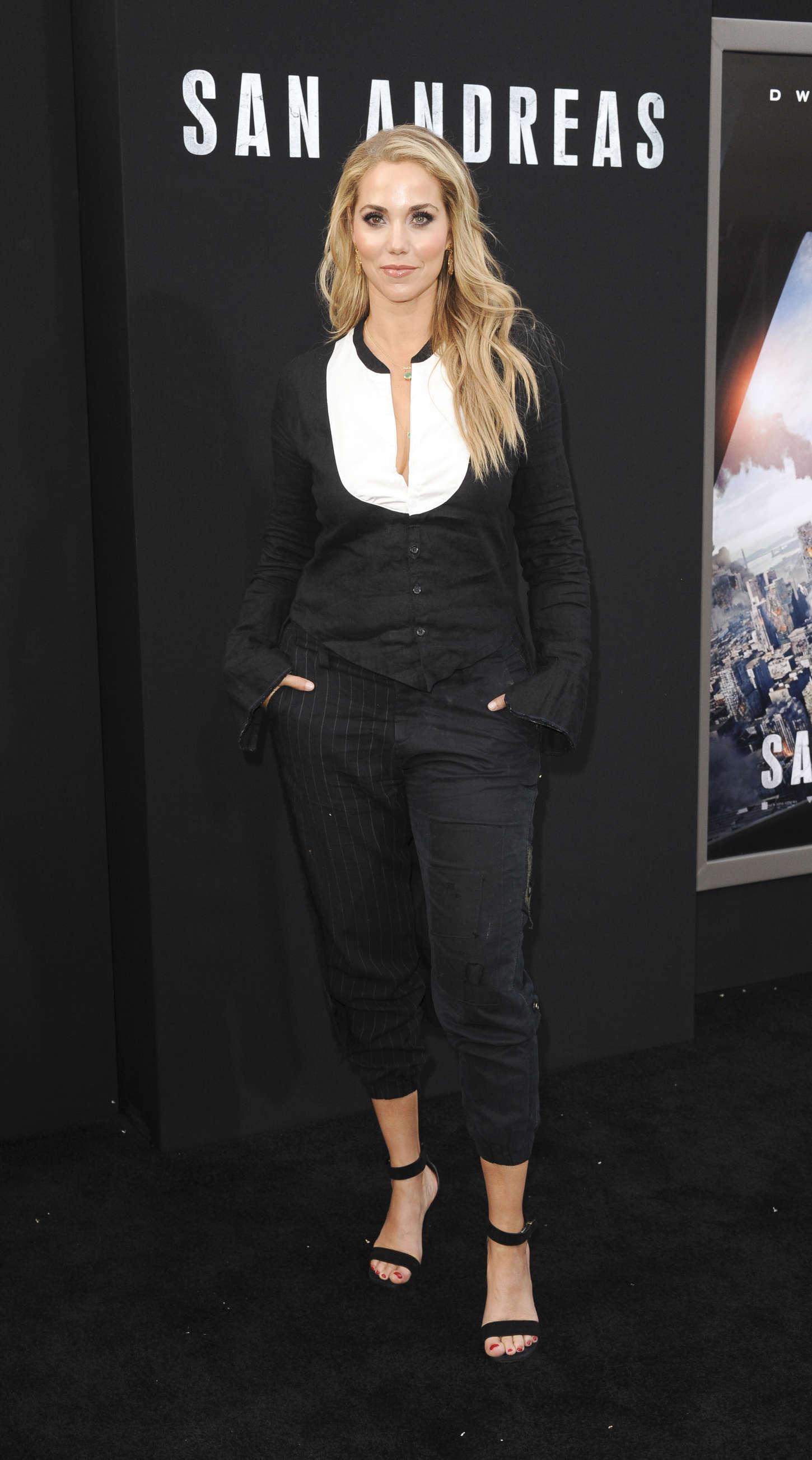 Elizabeth Berkley San Andreas Premiere in Hollywood