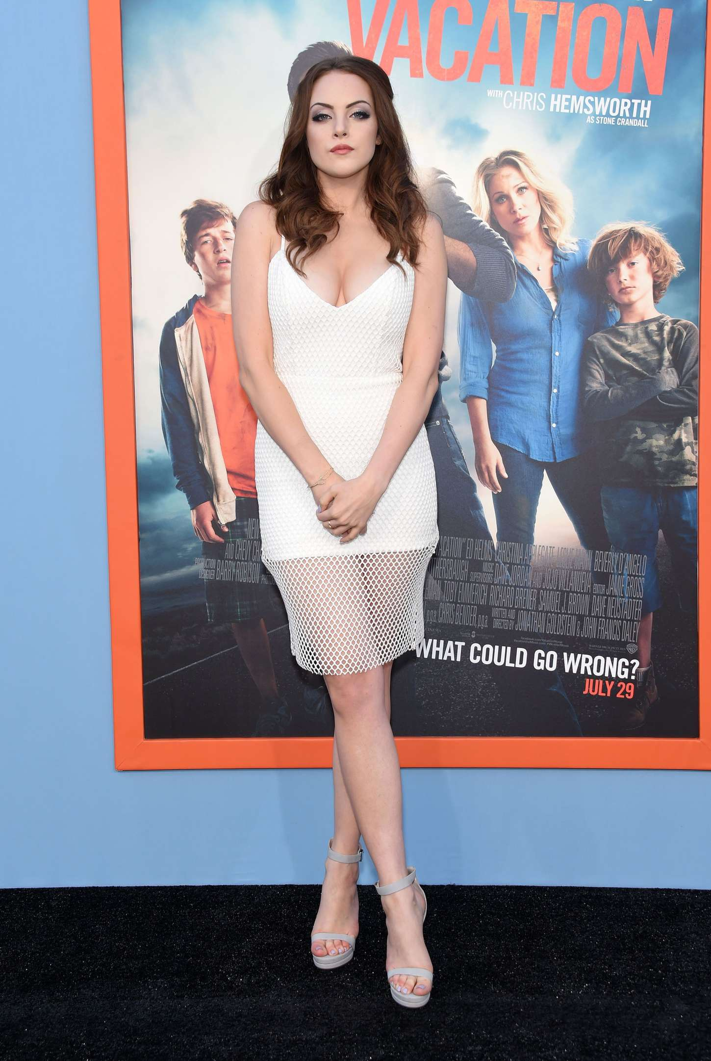 Elizabeth Gillies Vacation Premiere in Westwood