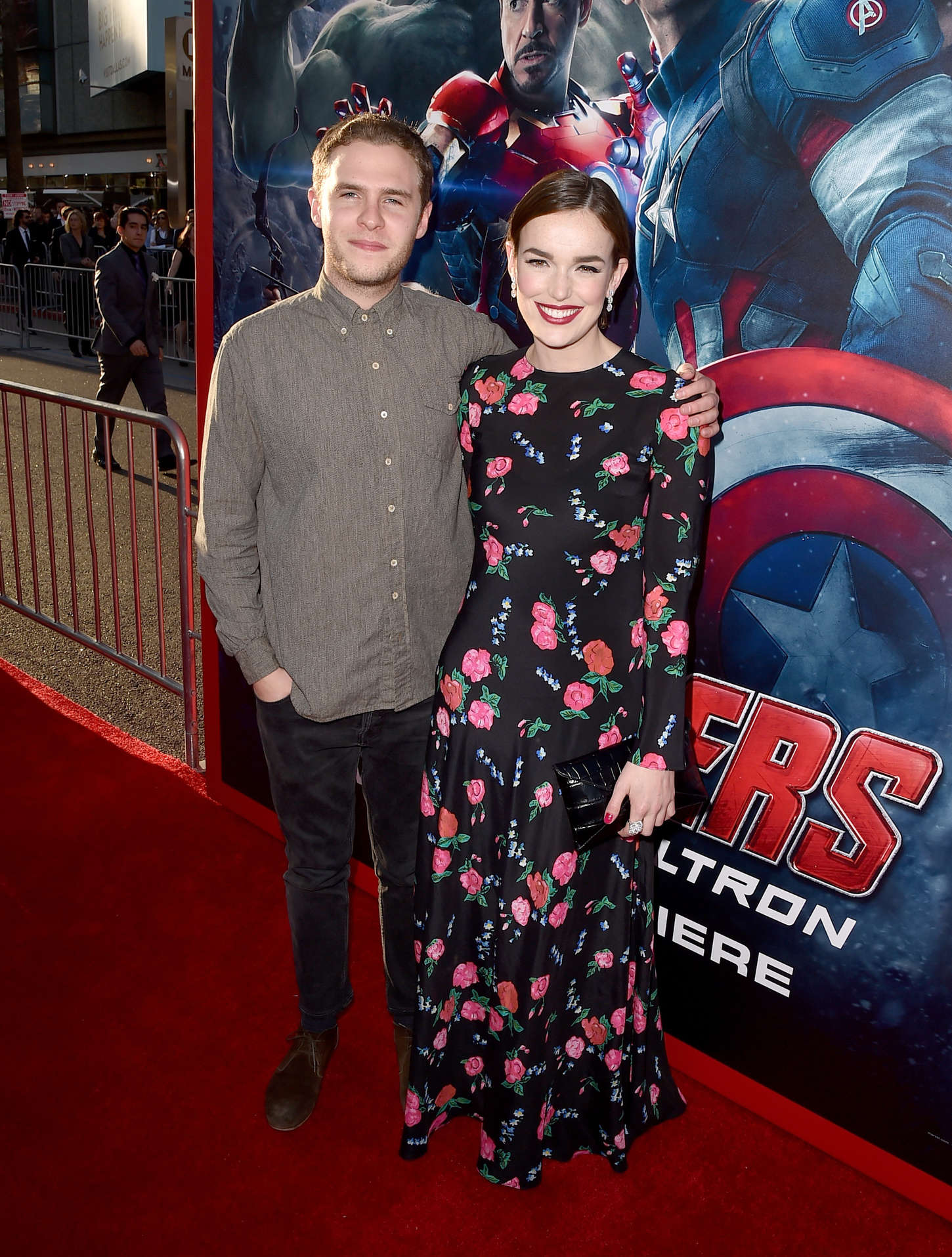 Elizabeth Henstridge Avengers Age Of Ultron Premiere in Hollywood