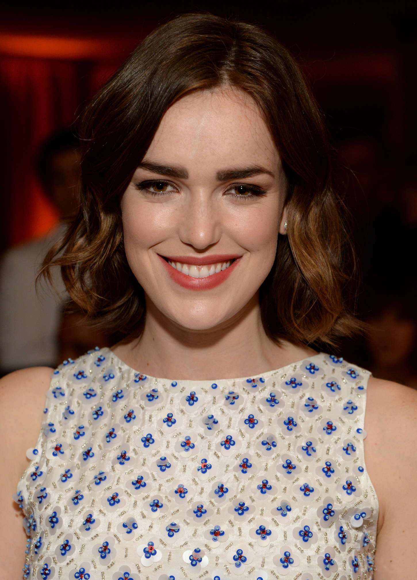 Elizabeth Henstridge ELLEs Annual Women in Television Celebration in West Hollywood