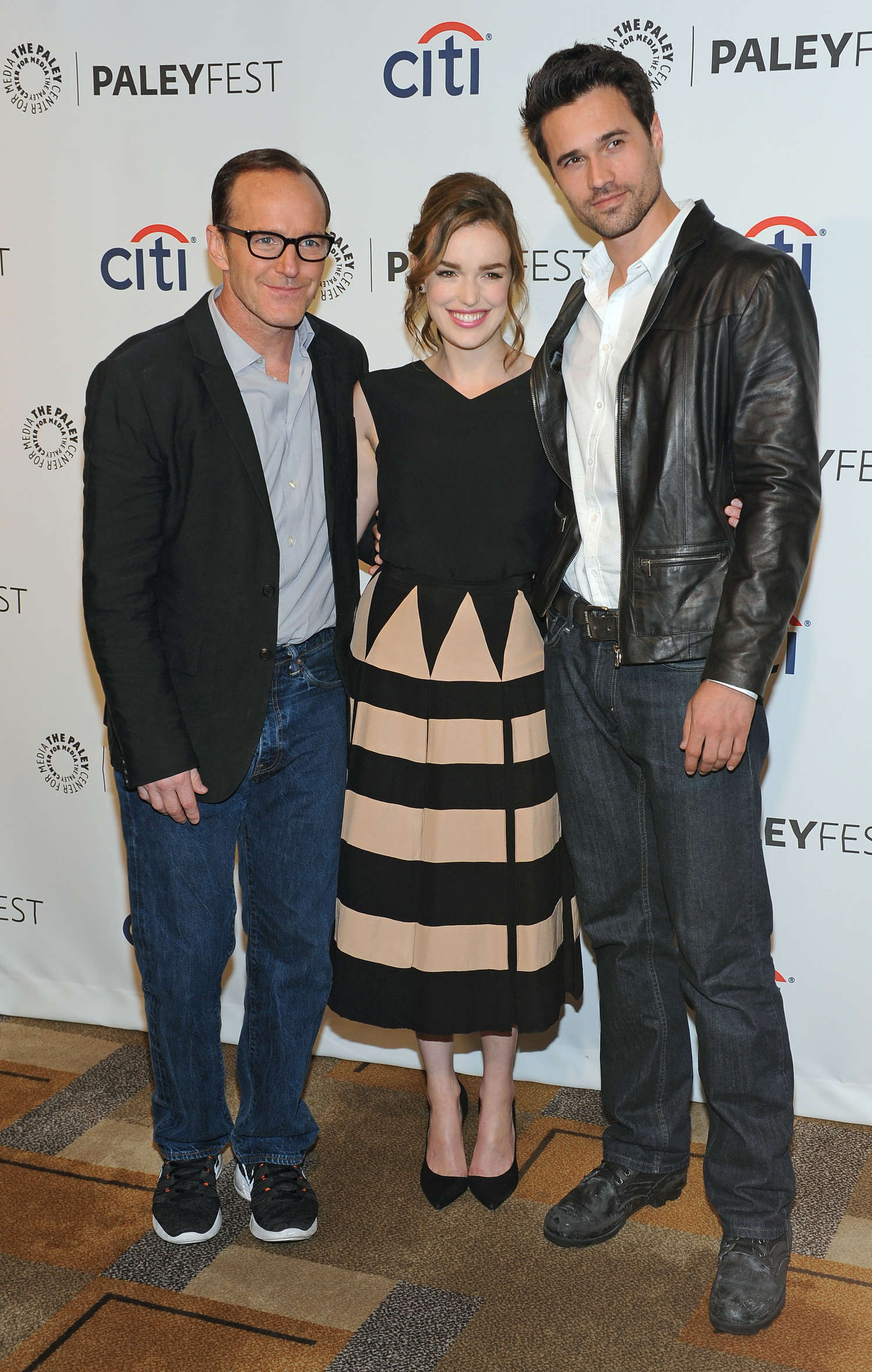 Elizabeth Henstridge PaleyFest An Evening with The Agents of Shield in Beverly Hills