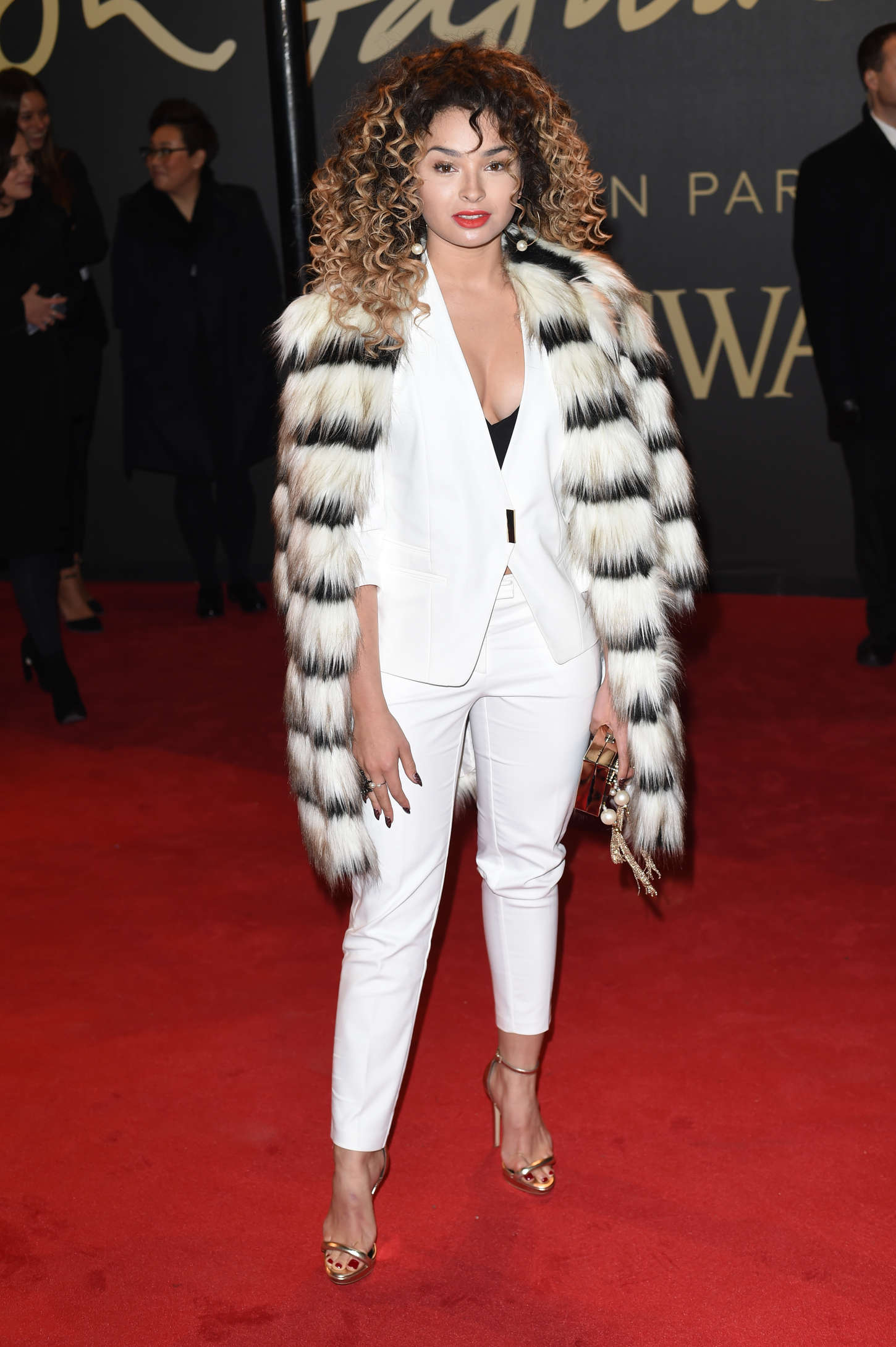 Ella Eyre British Fashion Awards in London