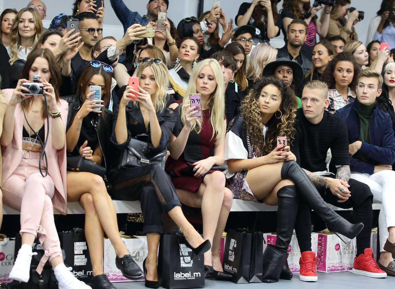 Ella Eyre Jean-Pierre Braganza Fashion Show in London