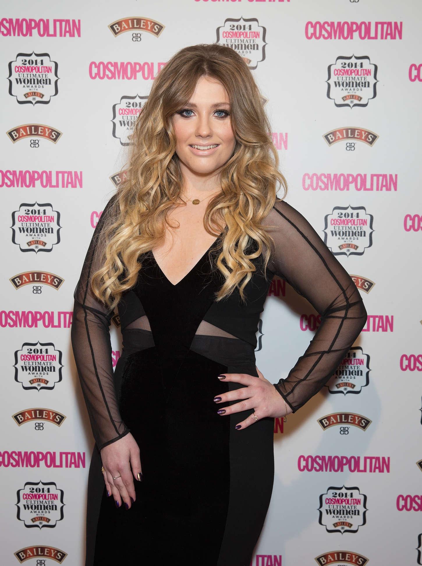 Ella Henderson Cosmopolitan Ultimate Women Awards in London