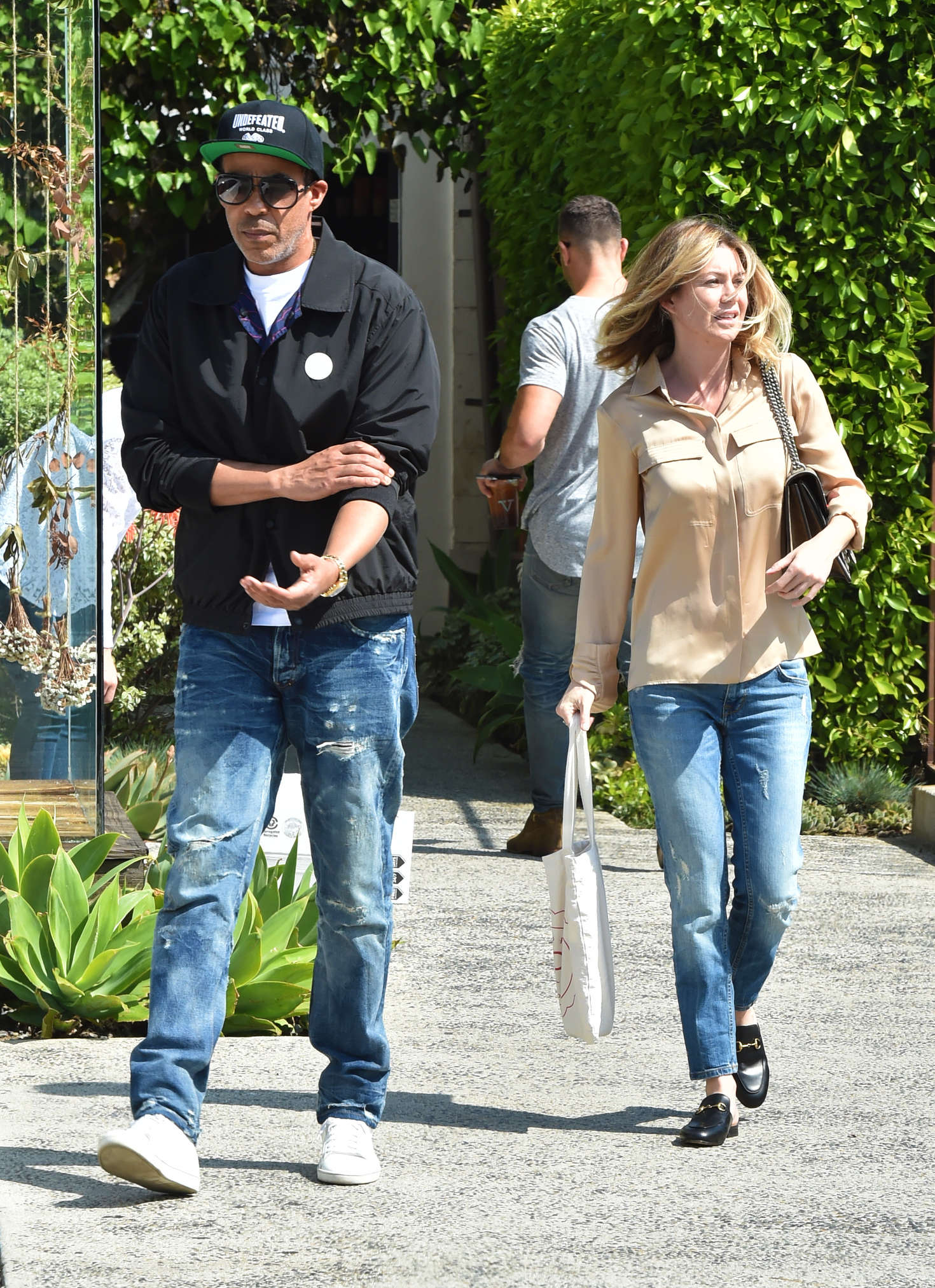 Ellen Pompeo Leaves The Andy LeCompte in West Hollywood