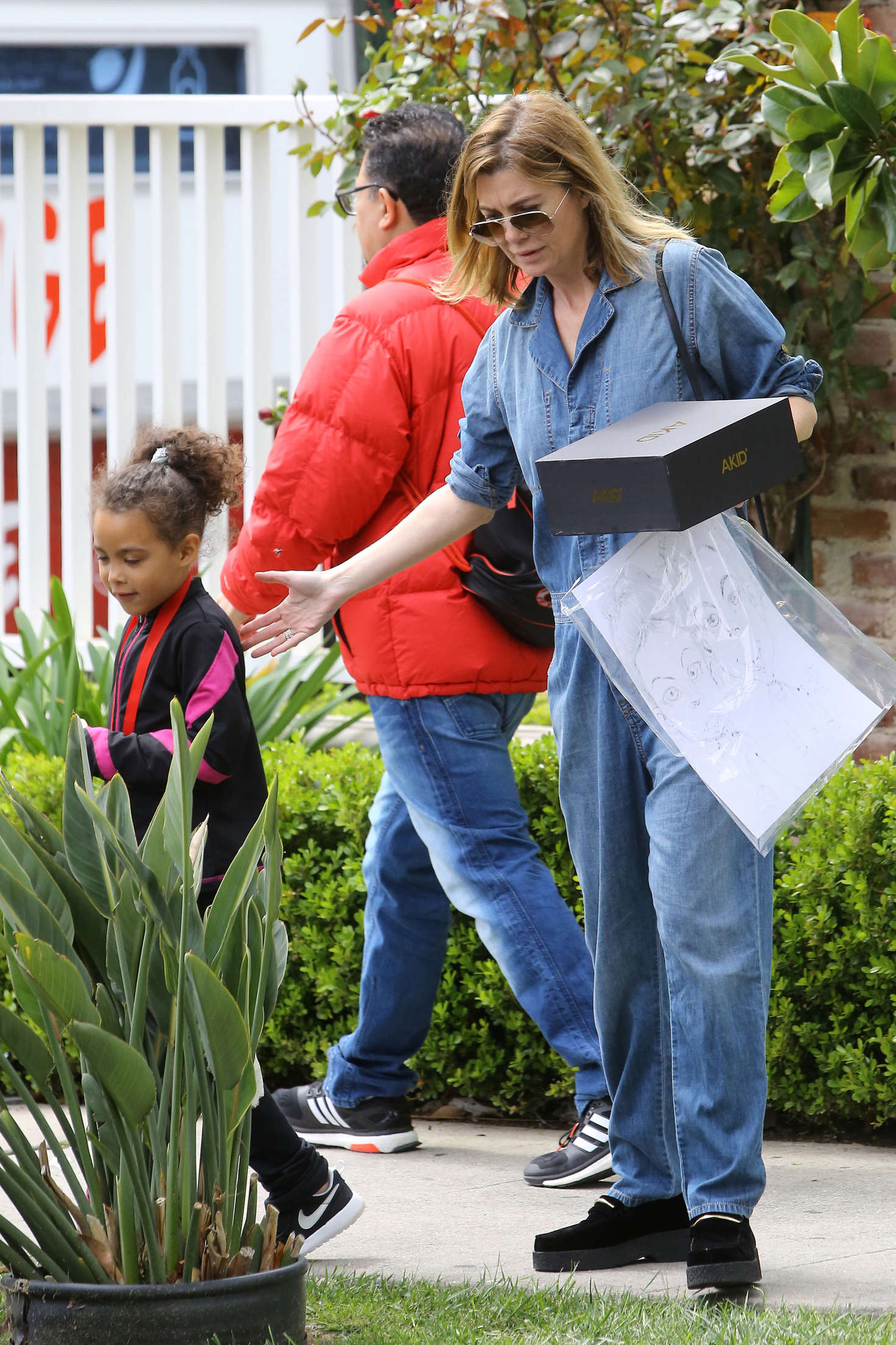 Ellen Pompeo Leaves the Easter Egg Hunt in Los Angeles