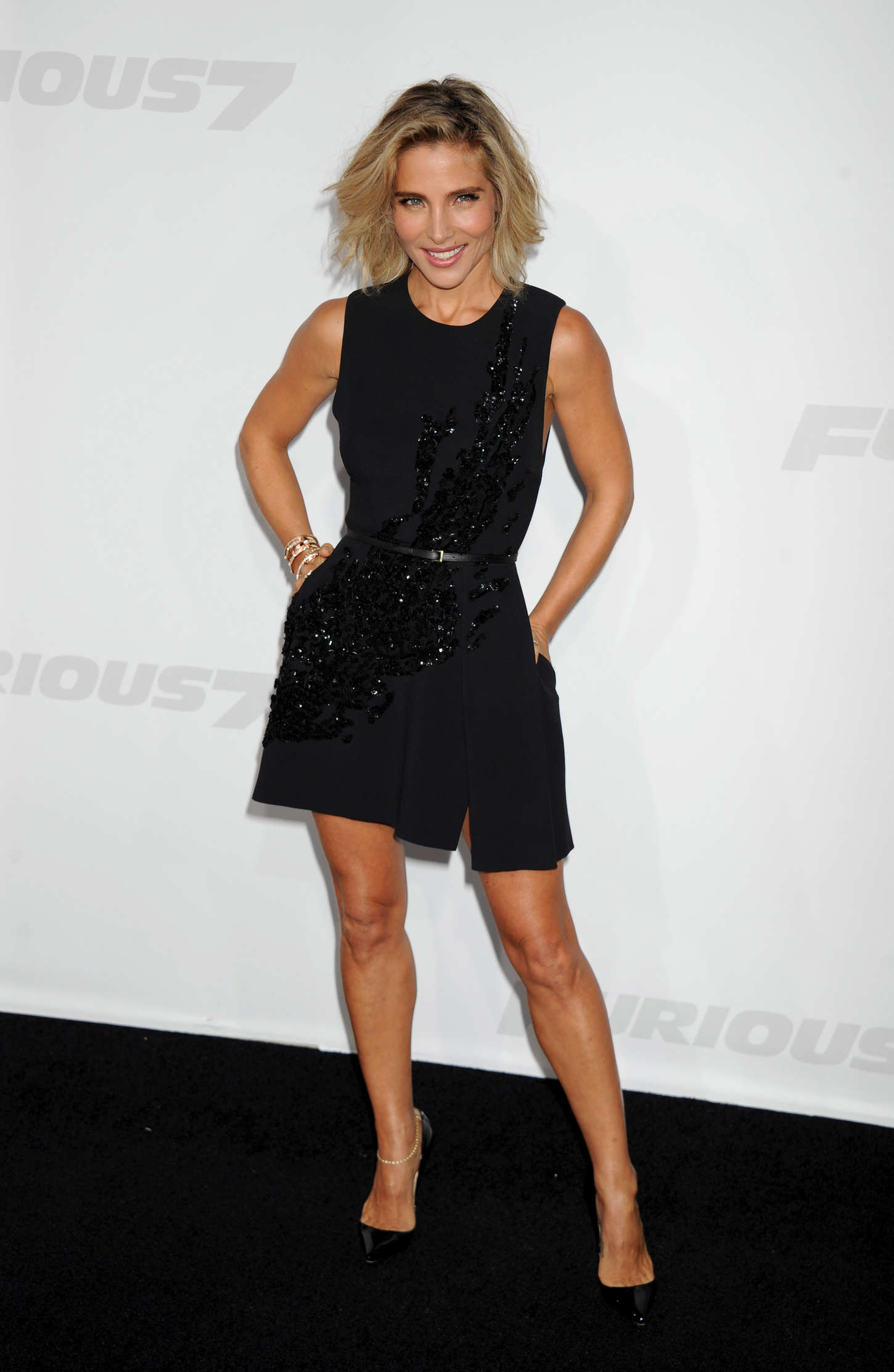 Elsa Pataky Furious Premiere in Los Angeles