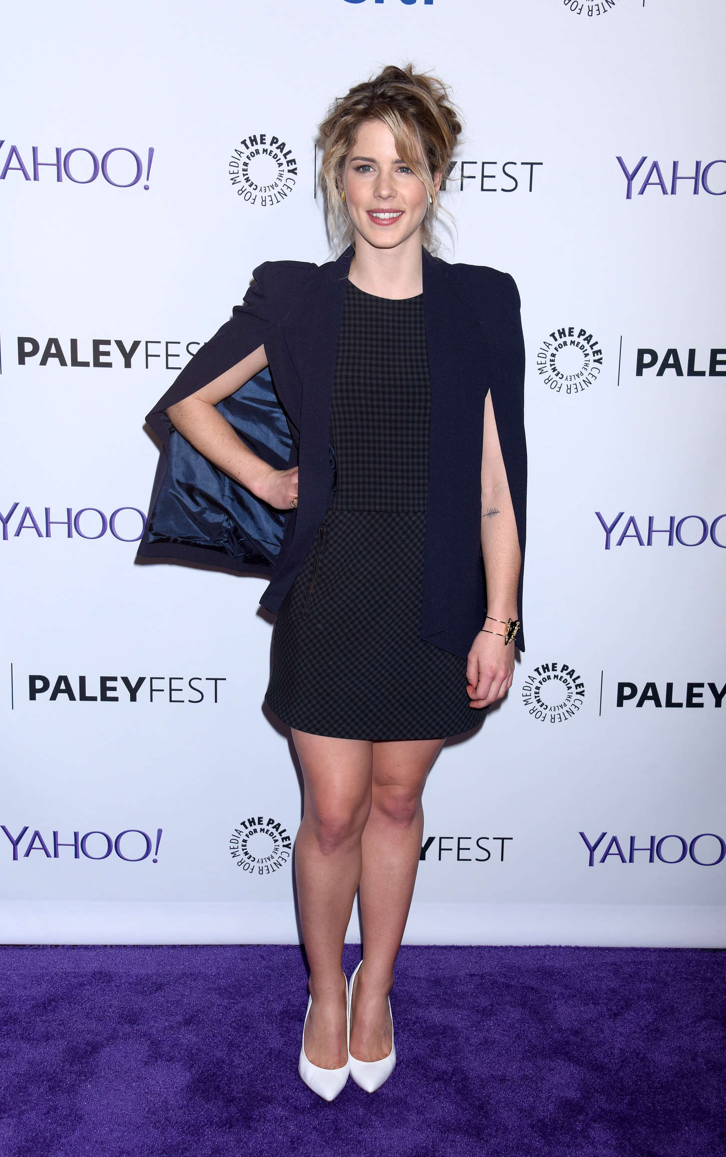 Emily Bett Rickards Annual PaleyFest Arrow The Flash Event in Hollywood