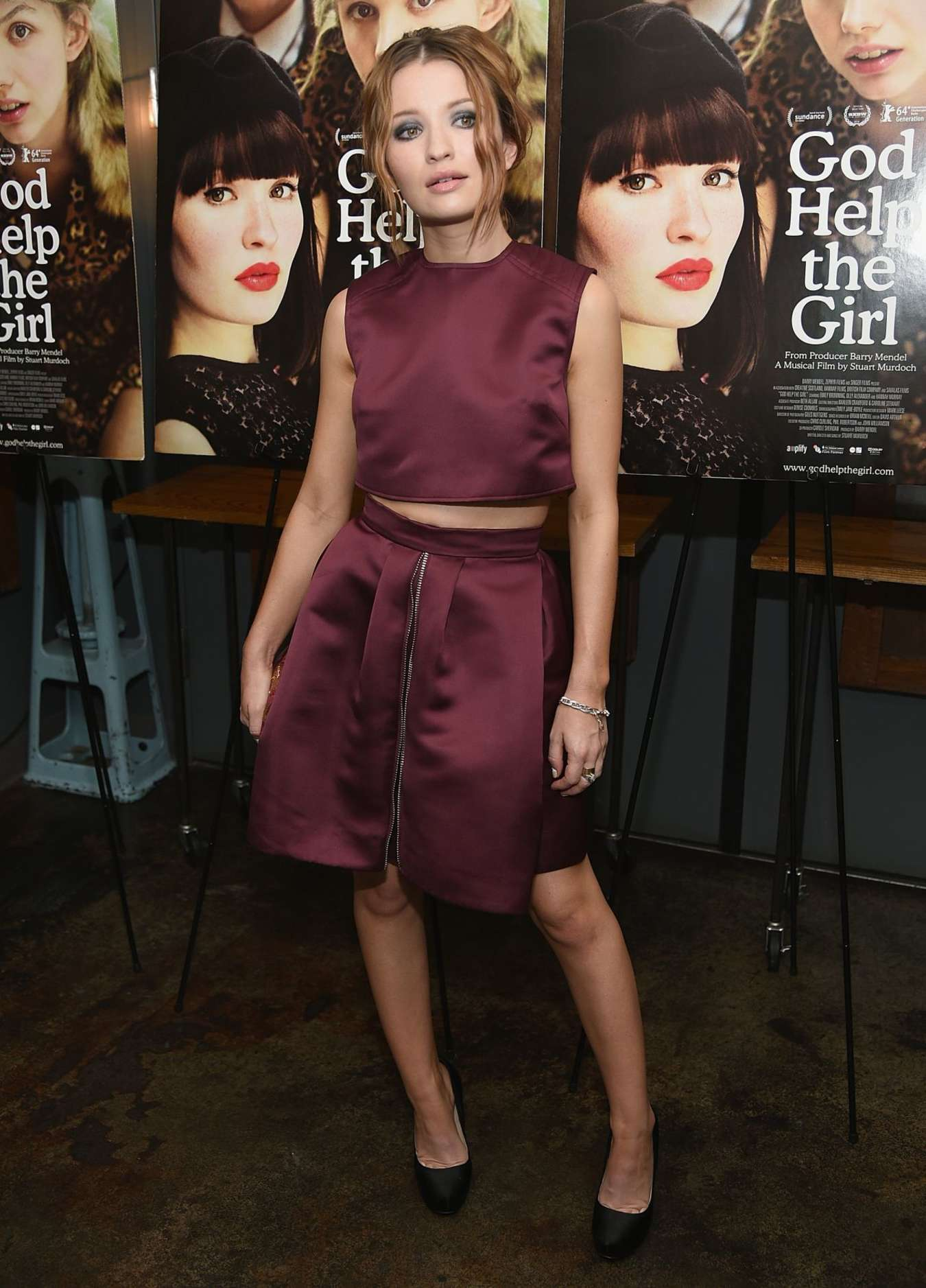 Emily Browning God Help The Girl Screening in New York City