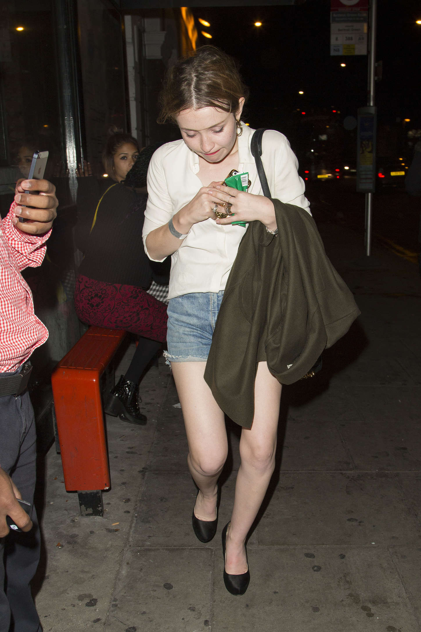 Emily Browning Nick Grimshaw Birthday Party in London