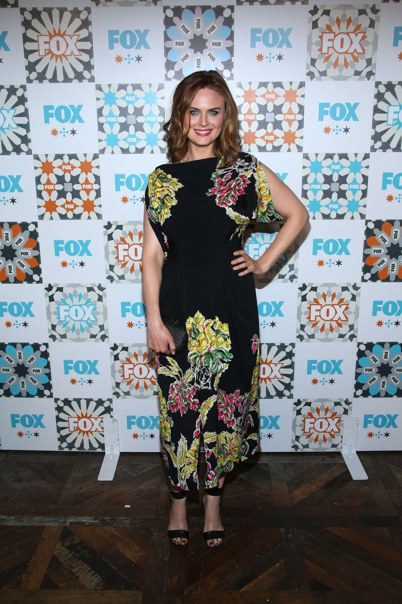 Emily Deschanel at Fox Summer TCA All-Star party in West Hollywood