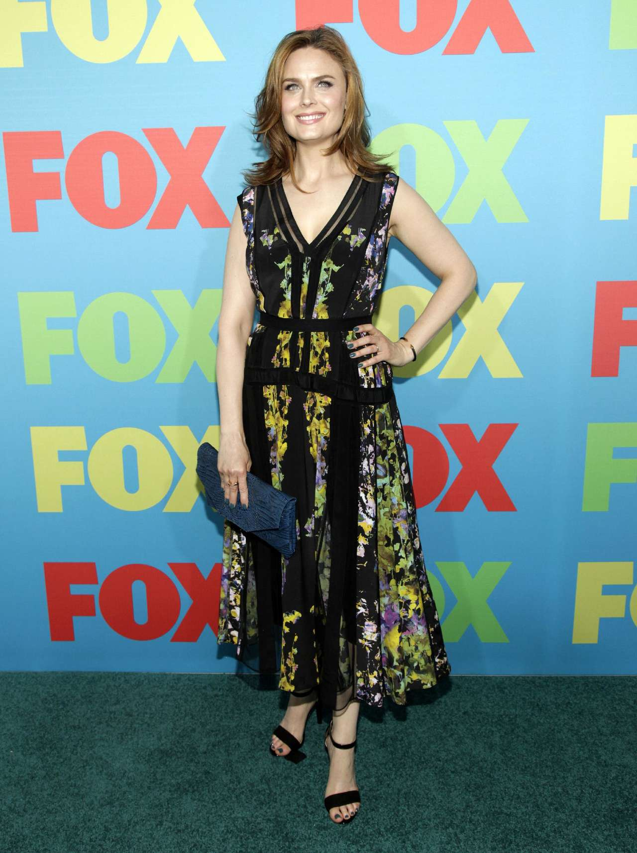Emily Deschanel FOX Network Upfront event