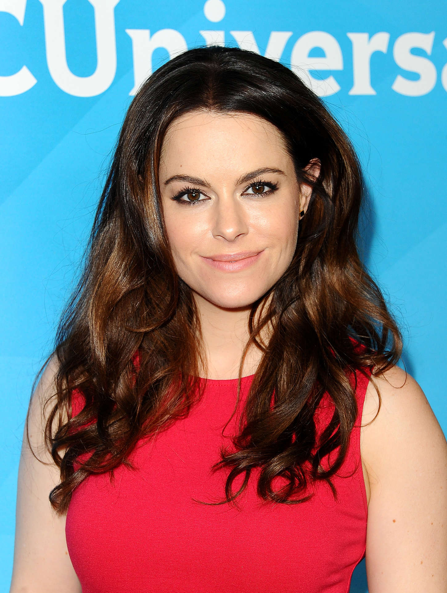 Emily Hampshire NBCUniversal Press Tour Day in Pasadena