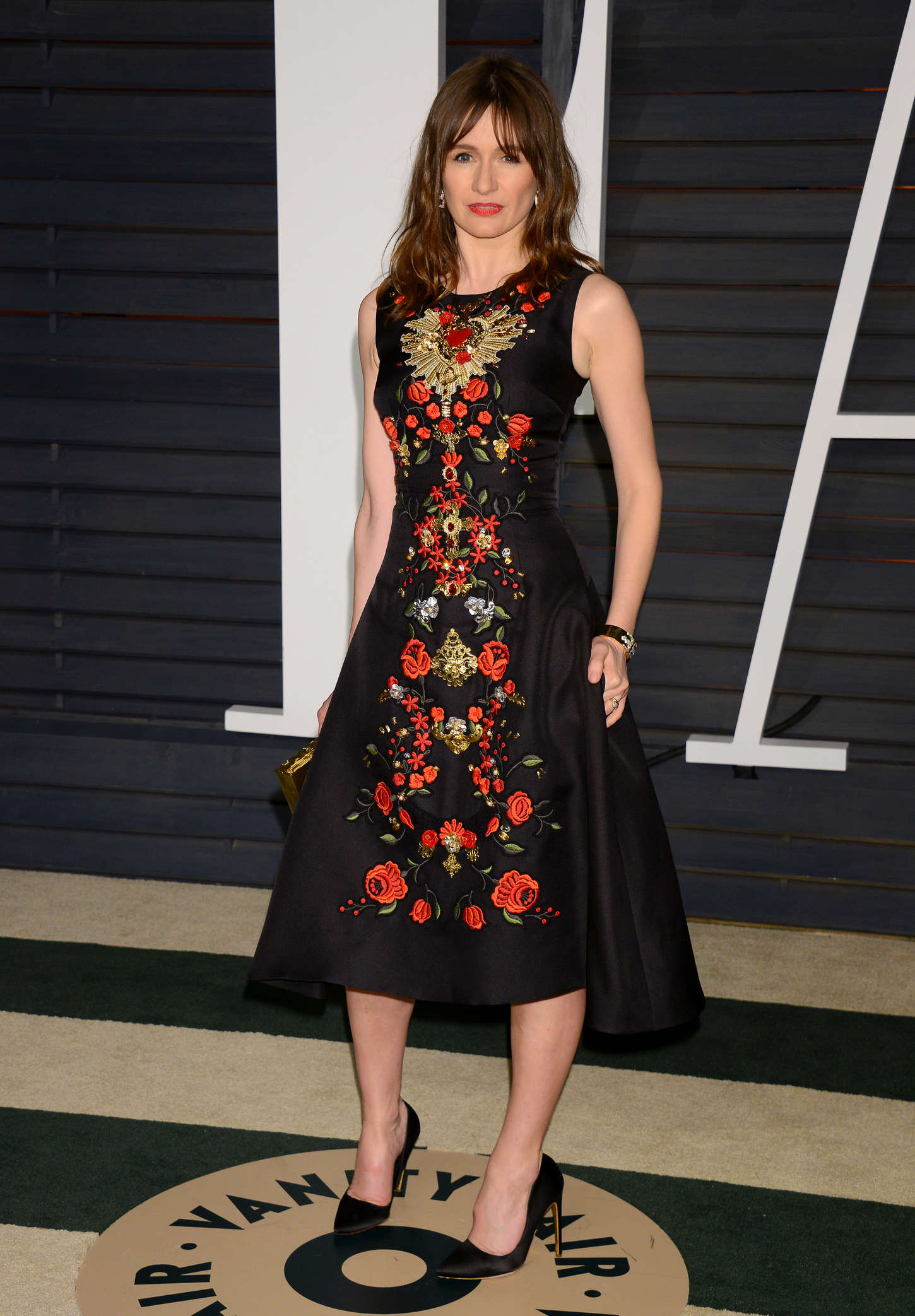Emily Mortimer Vanity Fair Oscar Party in Hollywood