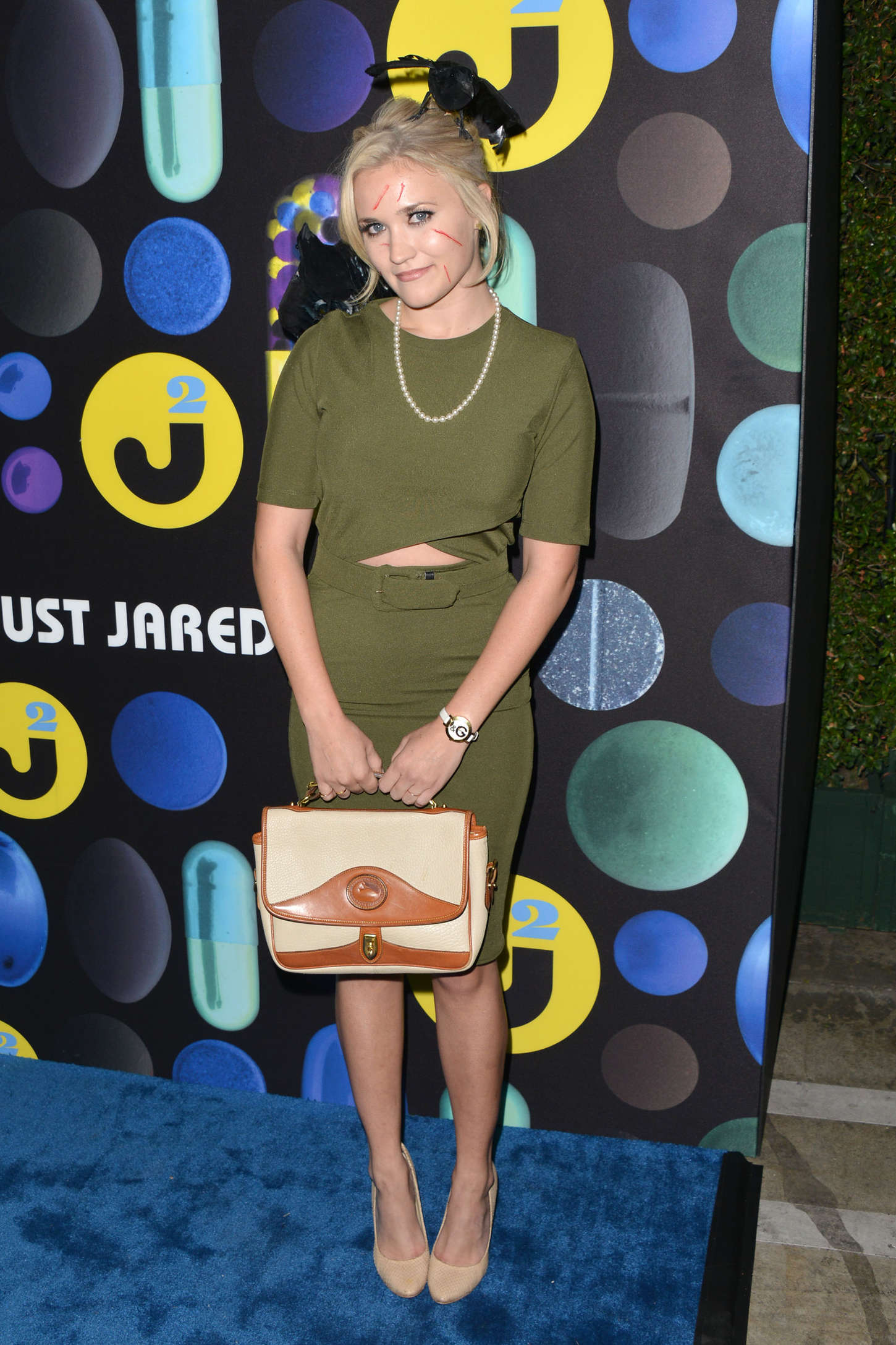Emily Osment Just Jared Halloween Party in Hollywood