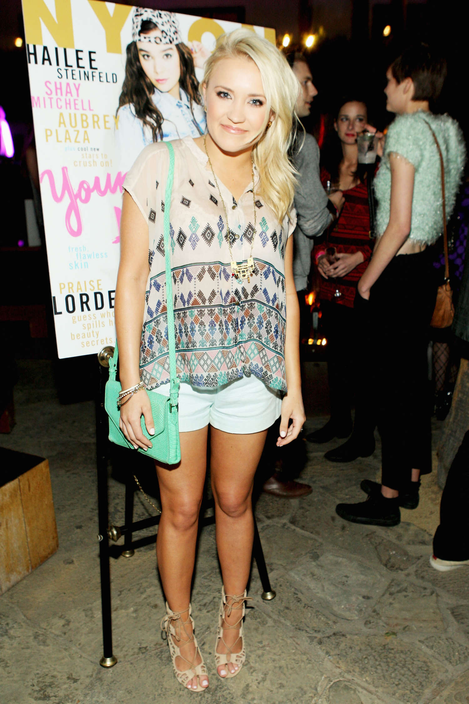 Emily Osment Nylon Magazine Young Hollywood Party in Los Angeles