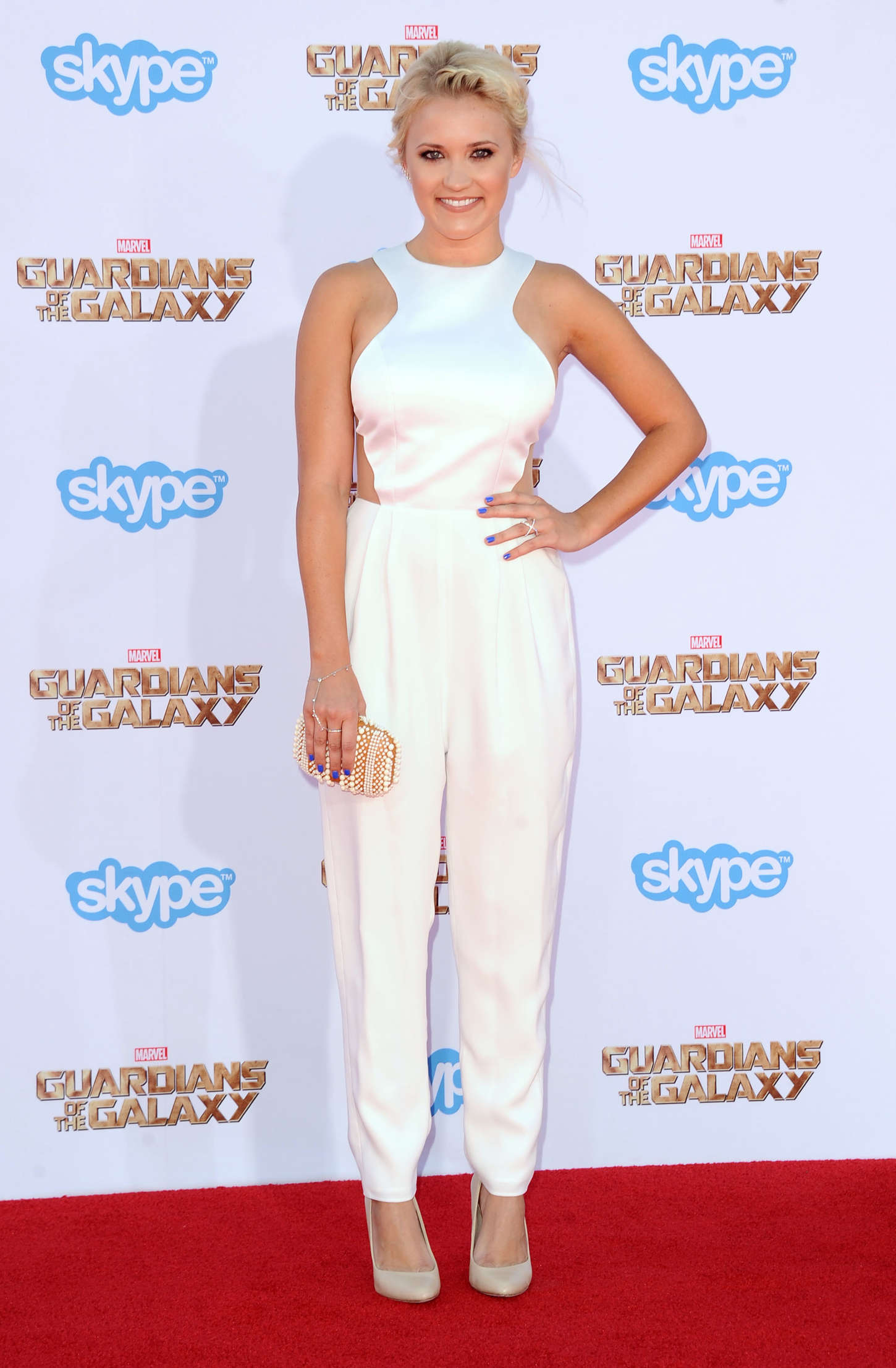 Emily Osment Premiere Guardians Of The Galaxy in Hollywood