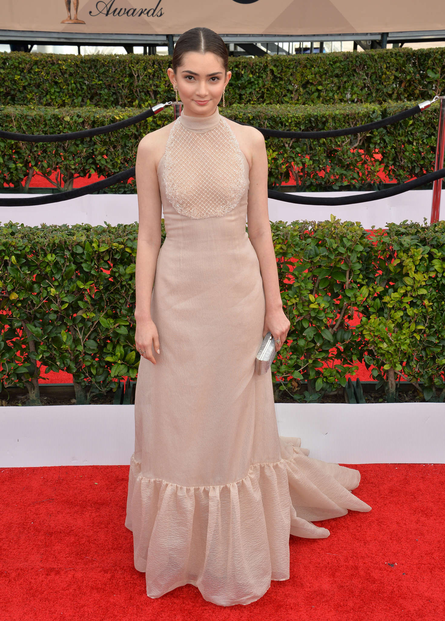 Emily Robinson Annual Screen Actors Guild Awards in Los Angeles