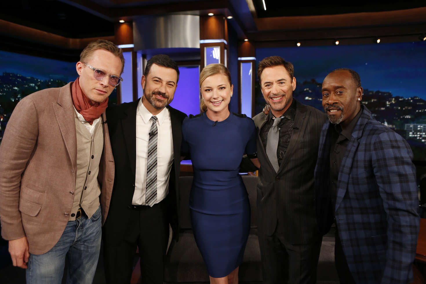 Emily VanCamp at Jimmy Kimmel Live in Hollywood