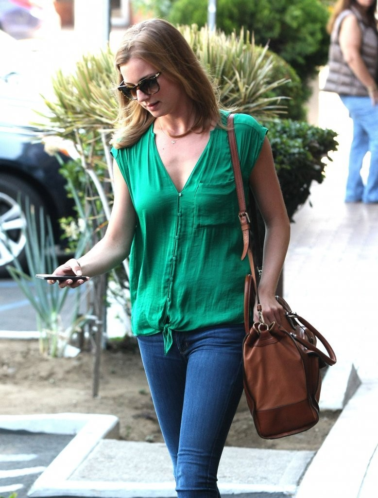 Emily VanCamp go out in West Hollywood