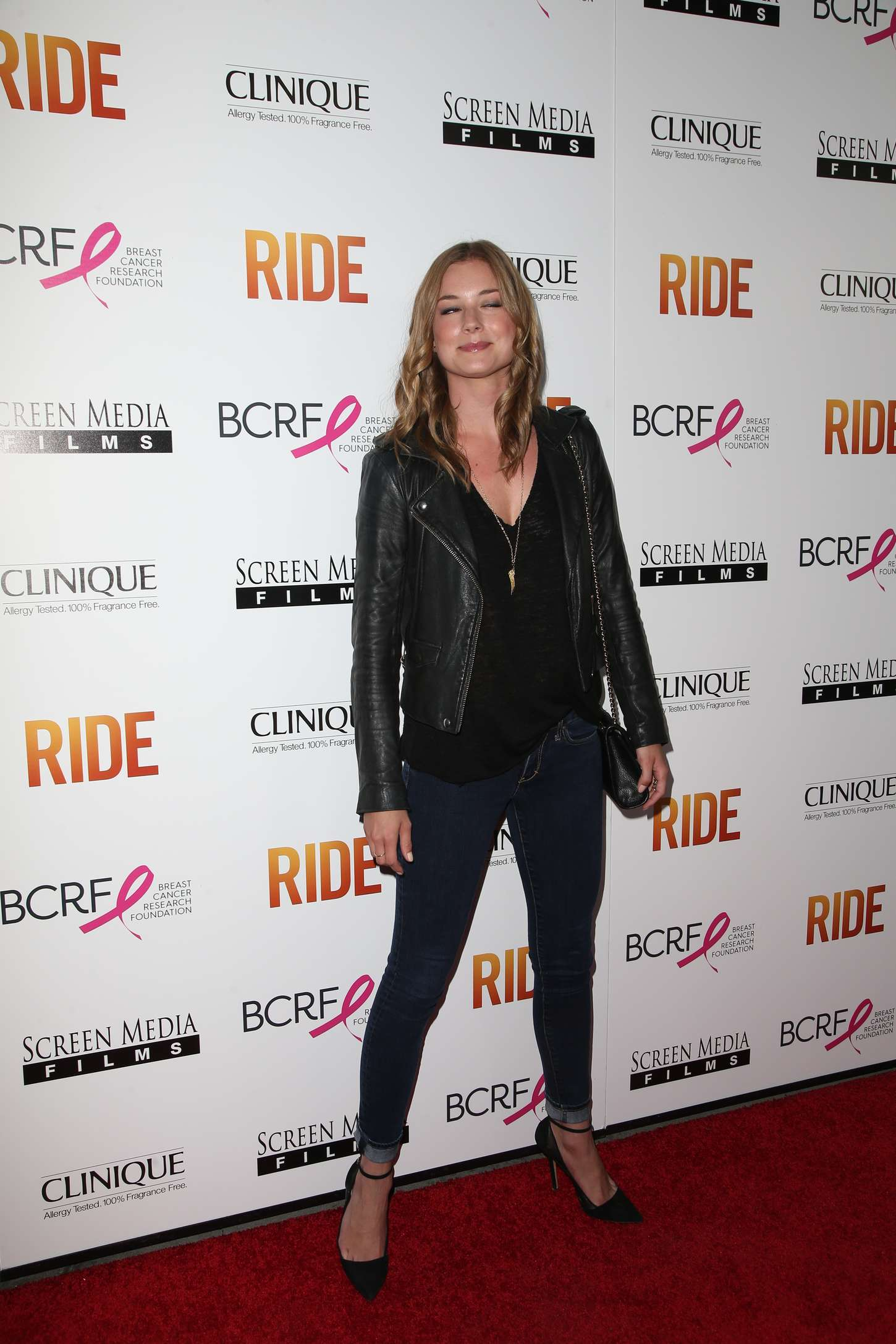 Emily VanCamp Ride Premiere in Hollywood