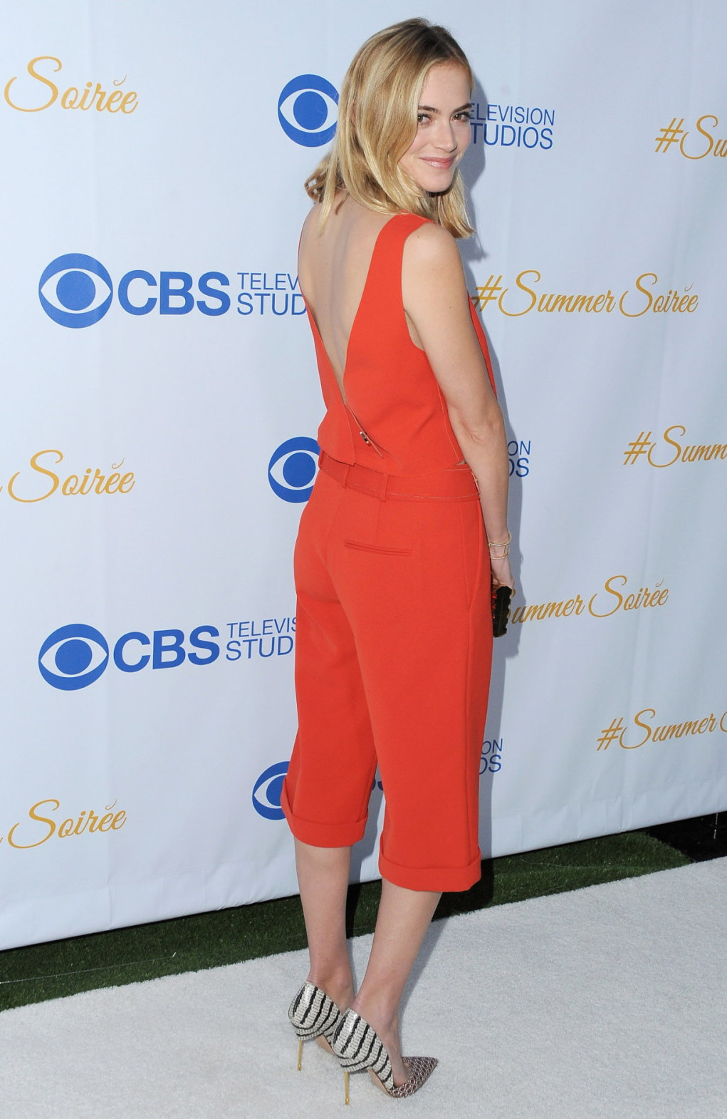 Emily Wickersham CBS Summer Soiree in West Hollywood