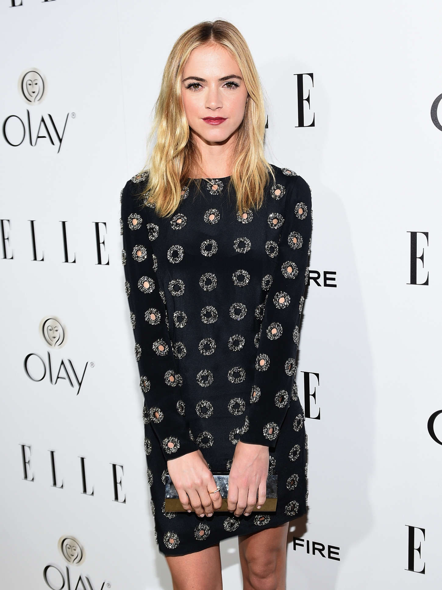 Emily Wickersham ELLEs Annual Women in Television Celebration in West Hollywood