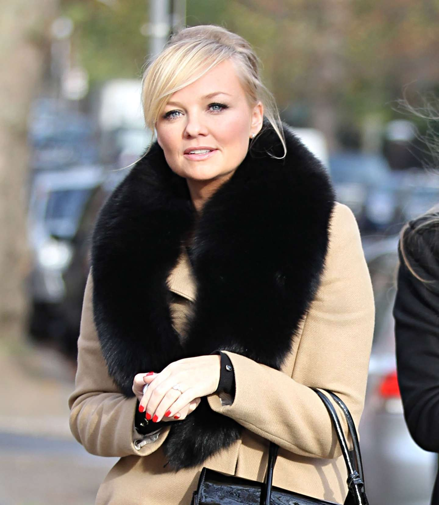 Emma Bunton Candids In London November
