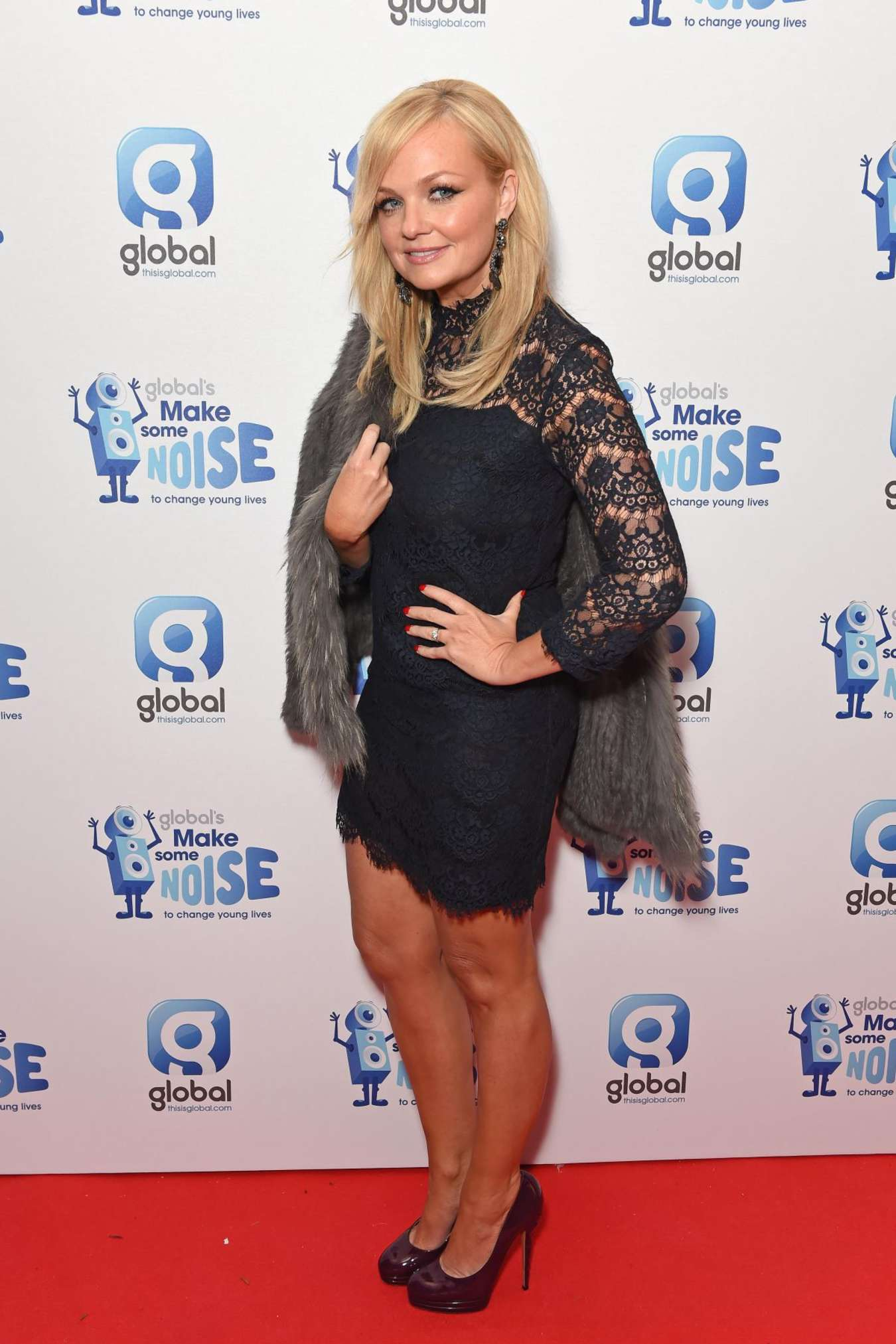 Emma Bunton Global Make Some Noise Event in London