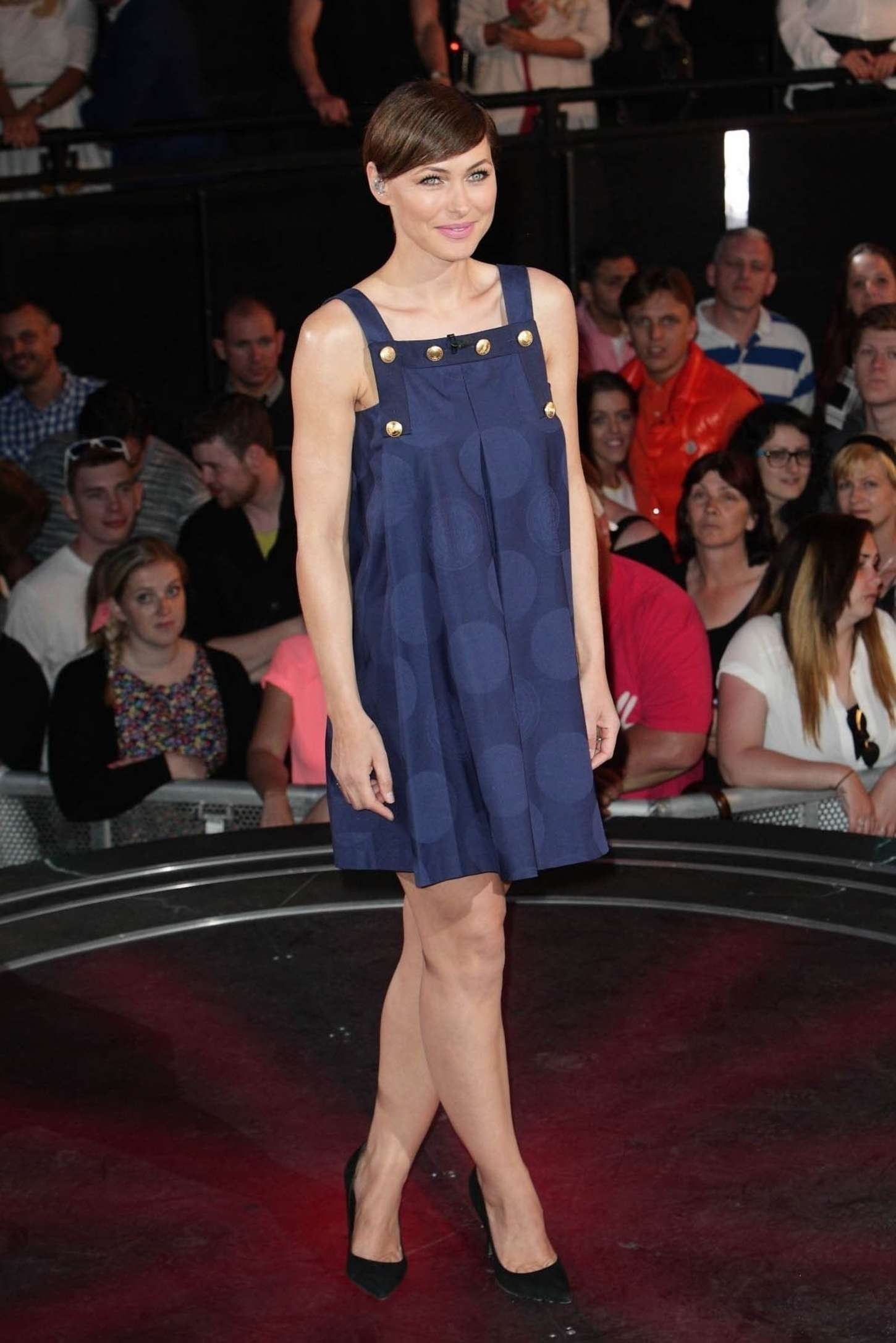 Emma Willis Big Brother UK Eviction Night in London