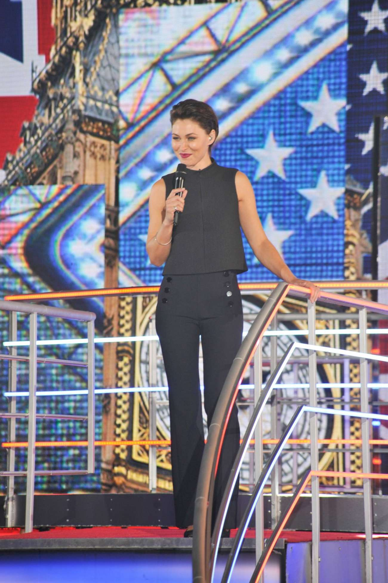 Emma Willis Celebrity Big Brother UK in Borehamwood