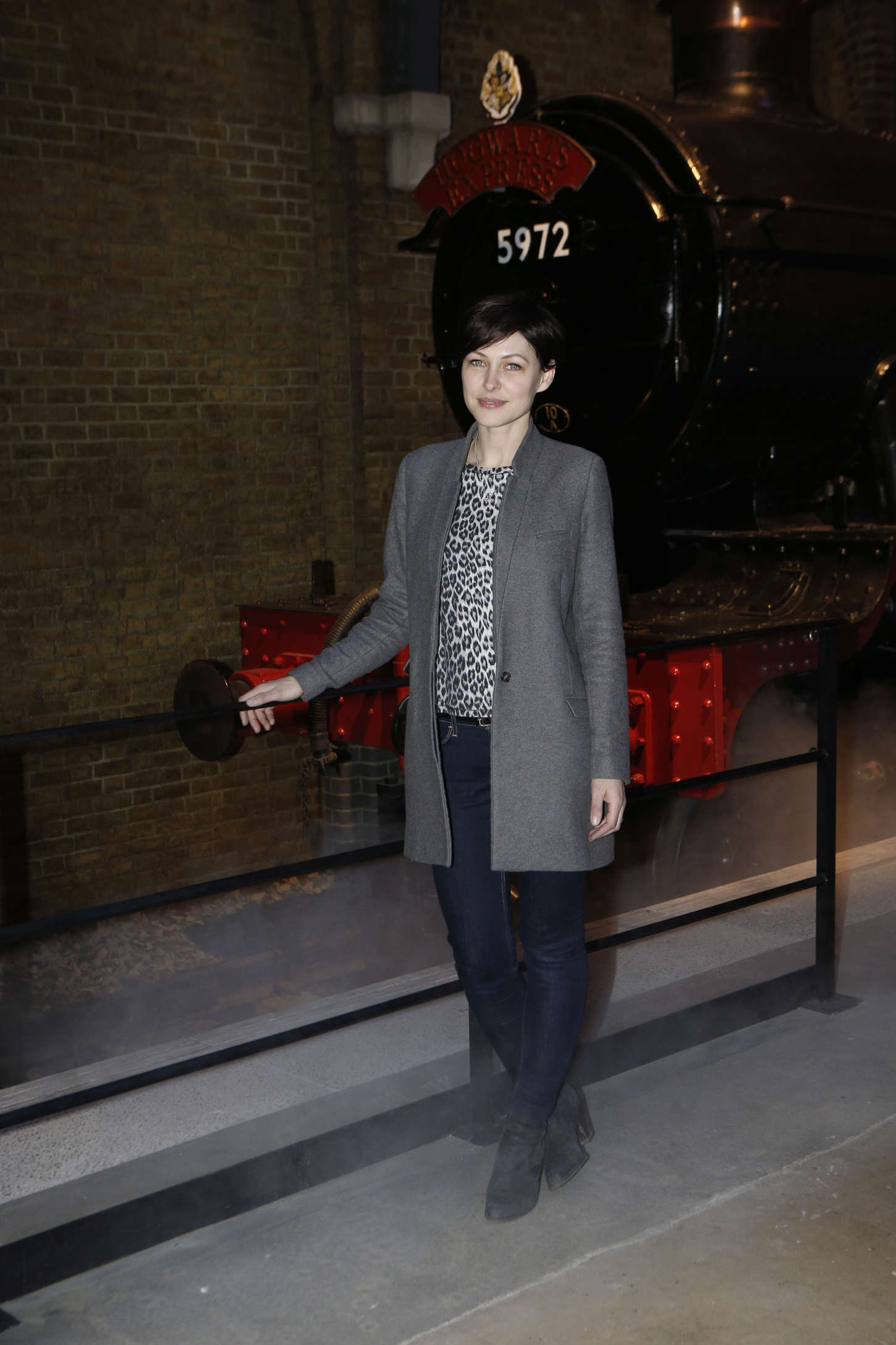 Emma Willis Original Hogwarts Express Platform Warner Bros. Studio Tour in London