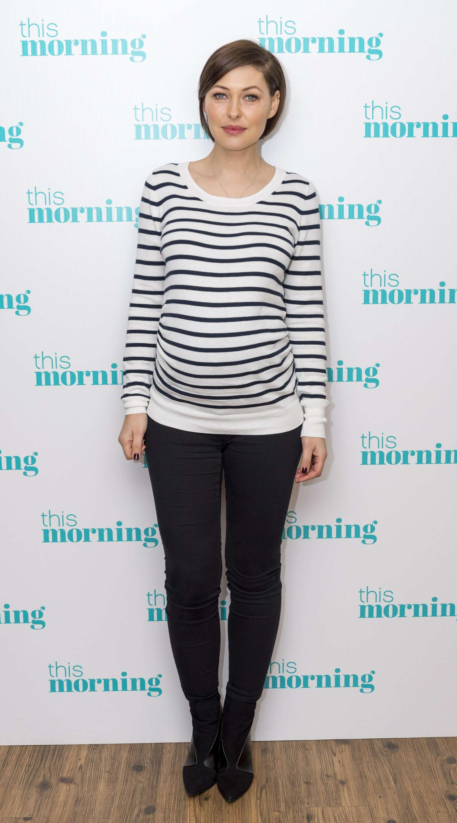 Emma Willis This Morning TV Show in London
