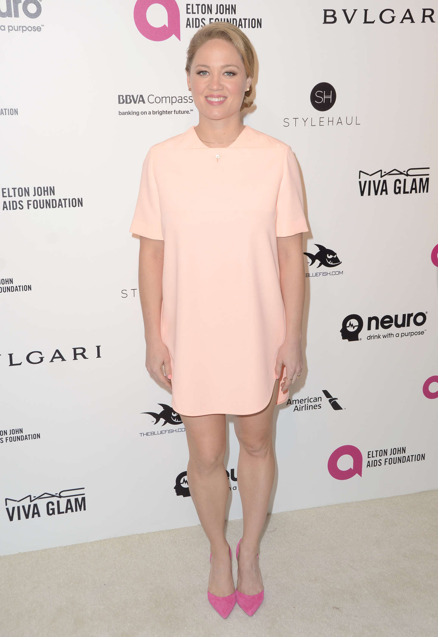 Erika Christensen Elton John AIDS Foundations Oscar Viewing Party in West Hollywood
