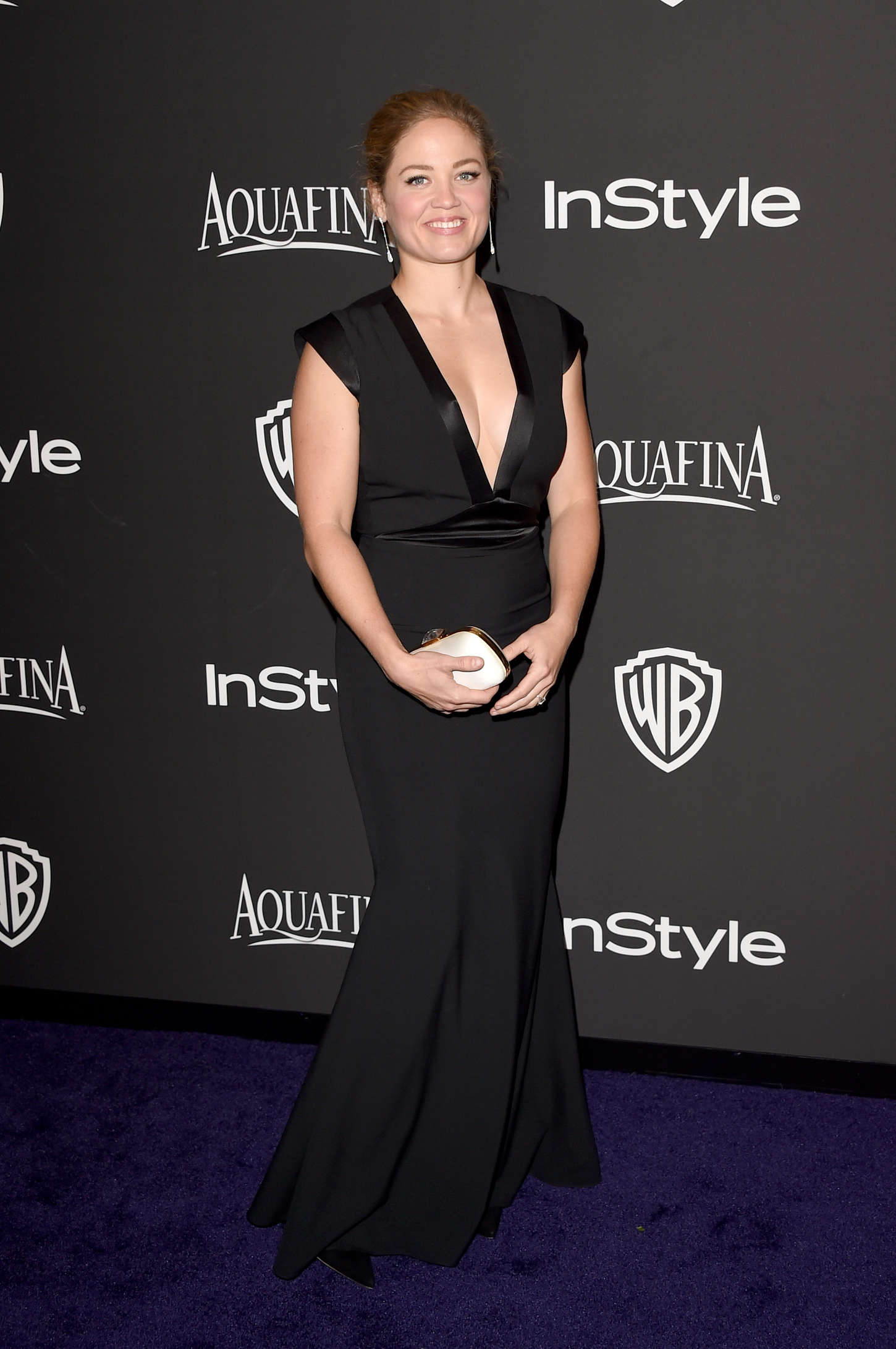 Erika Christensen InStyle And Warner Bros Golden Globes Party in Beverly Hills