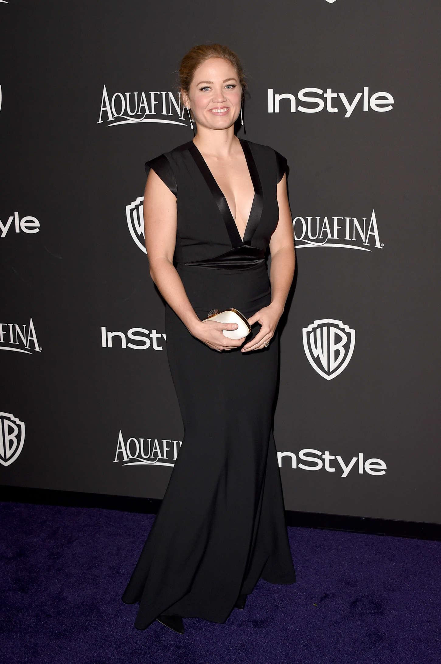 Erika Christensen InStyle And Warner Bros Golden Globes Party in Beverly Hills