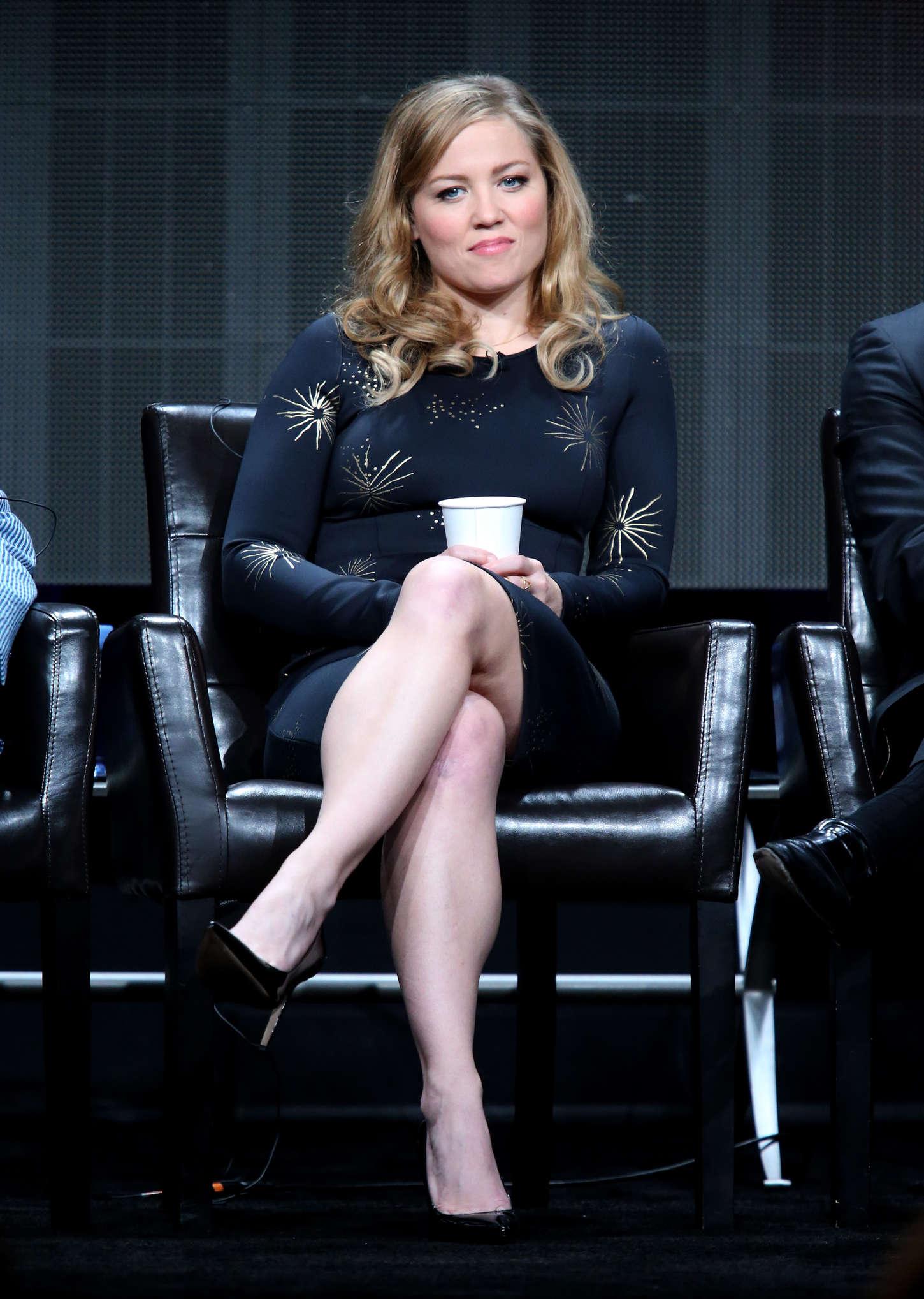 Erika Christensen Wicked City Panel Summer TCA Tour in Beverly Hills
