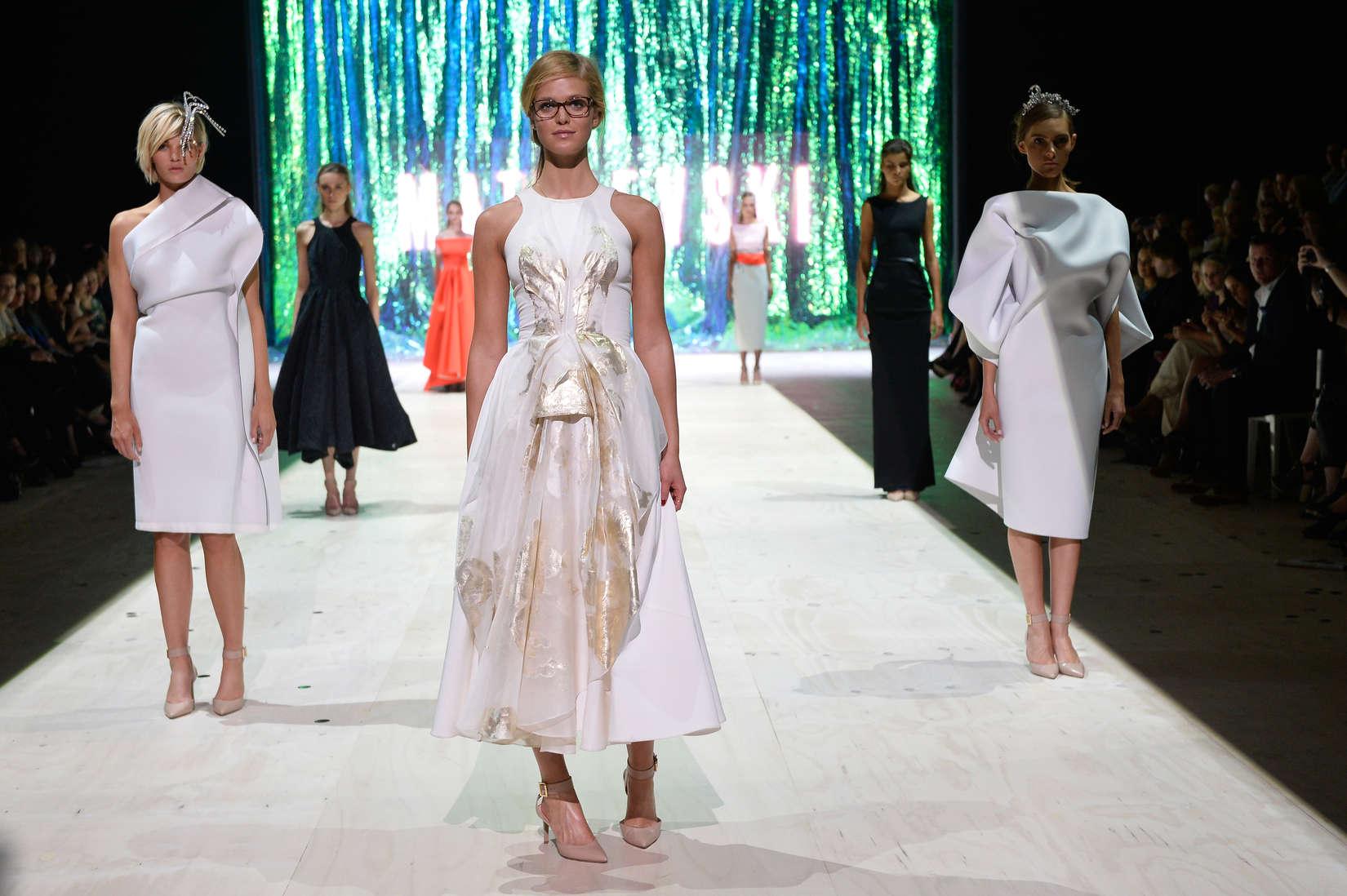 Erin Heatherton Mercedes Benz Trends fashion show in Sydney