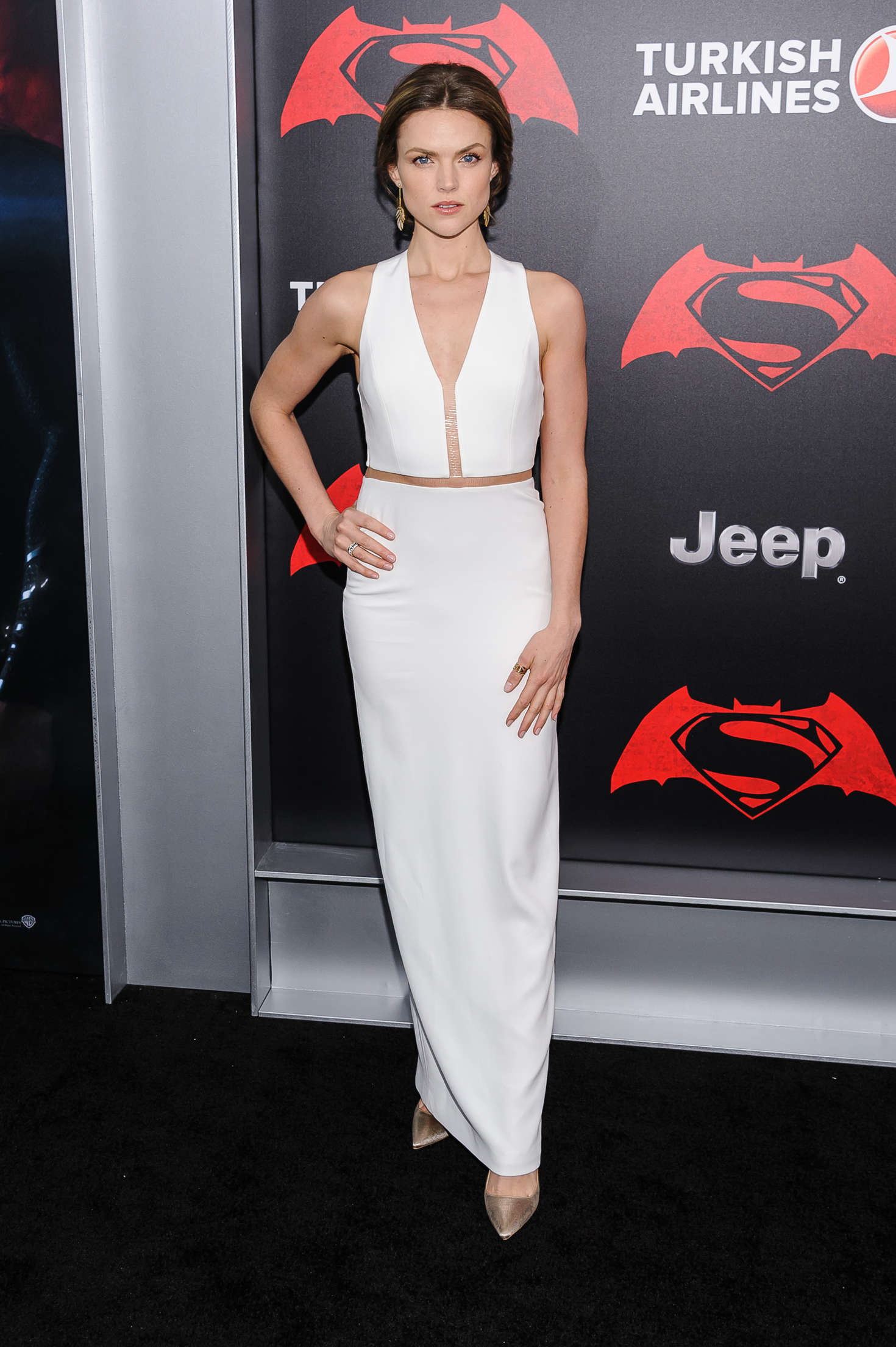 Erin Richards Batman V Superman Dawn Of Justice Premiere in New York City