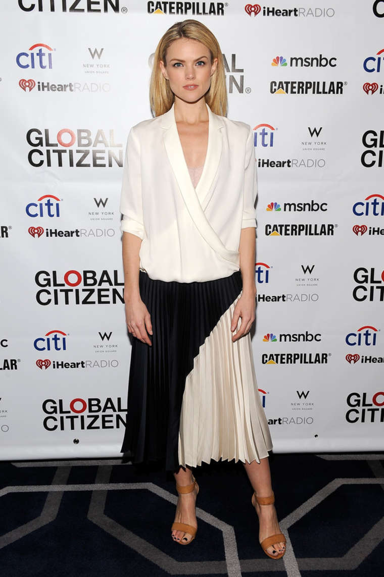 Erin Richards Global Citizen Launch Party in New York