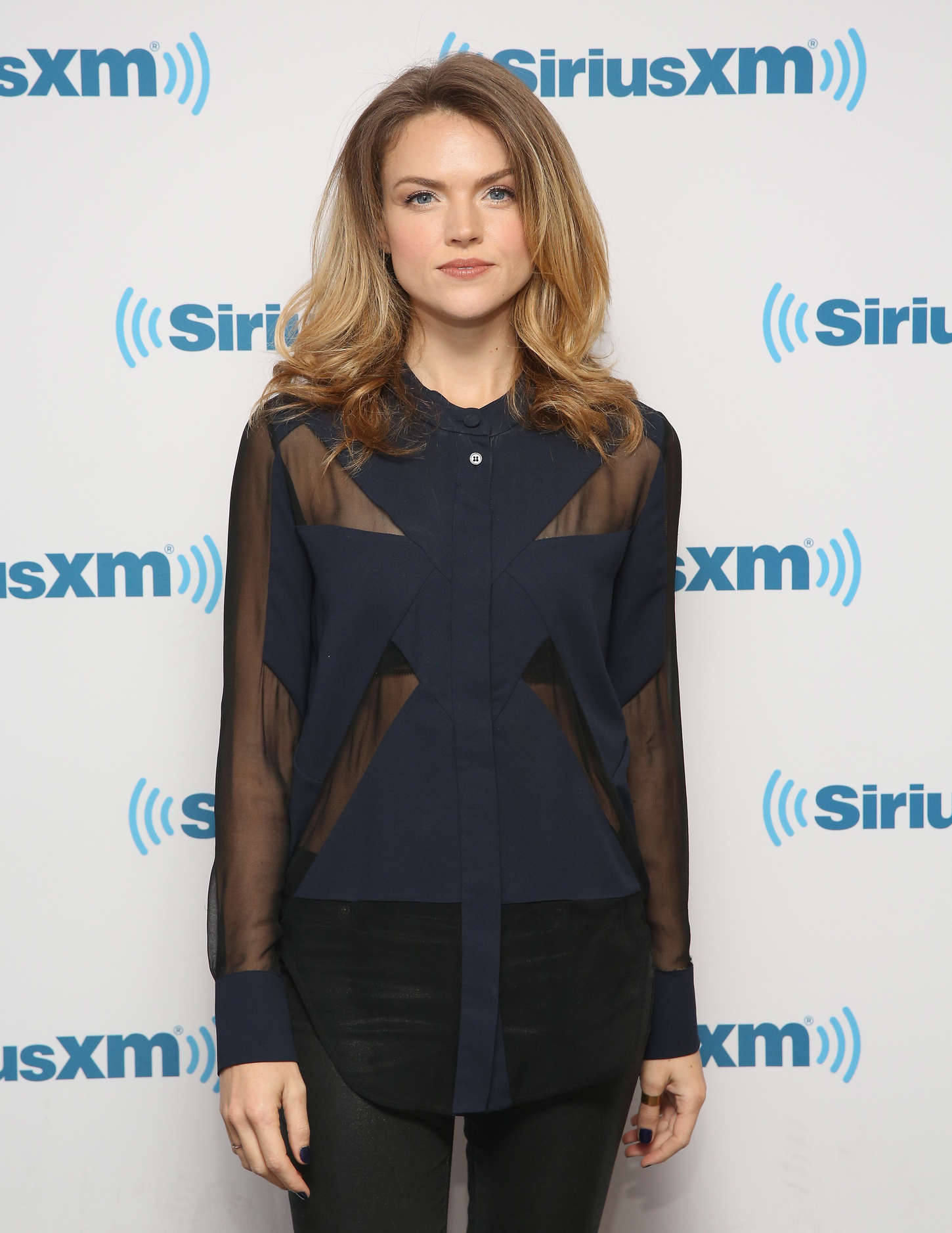 Erin Richards SiriusXM Studios in New York City