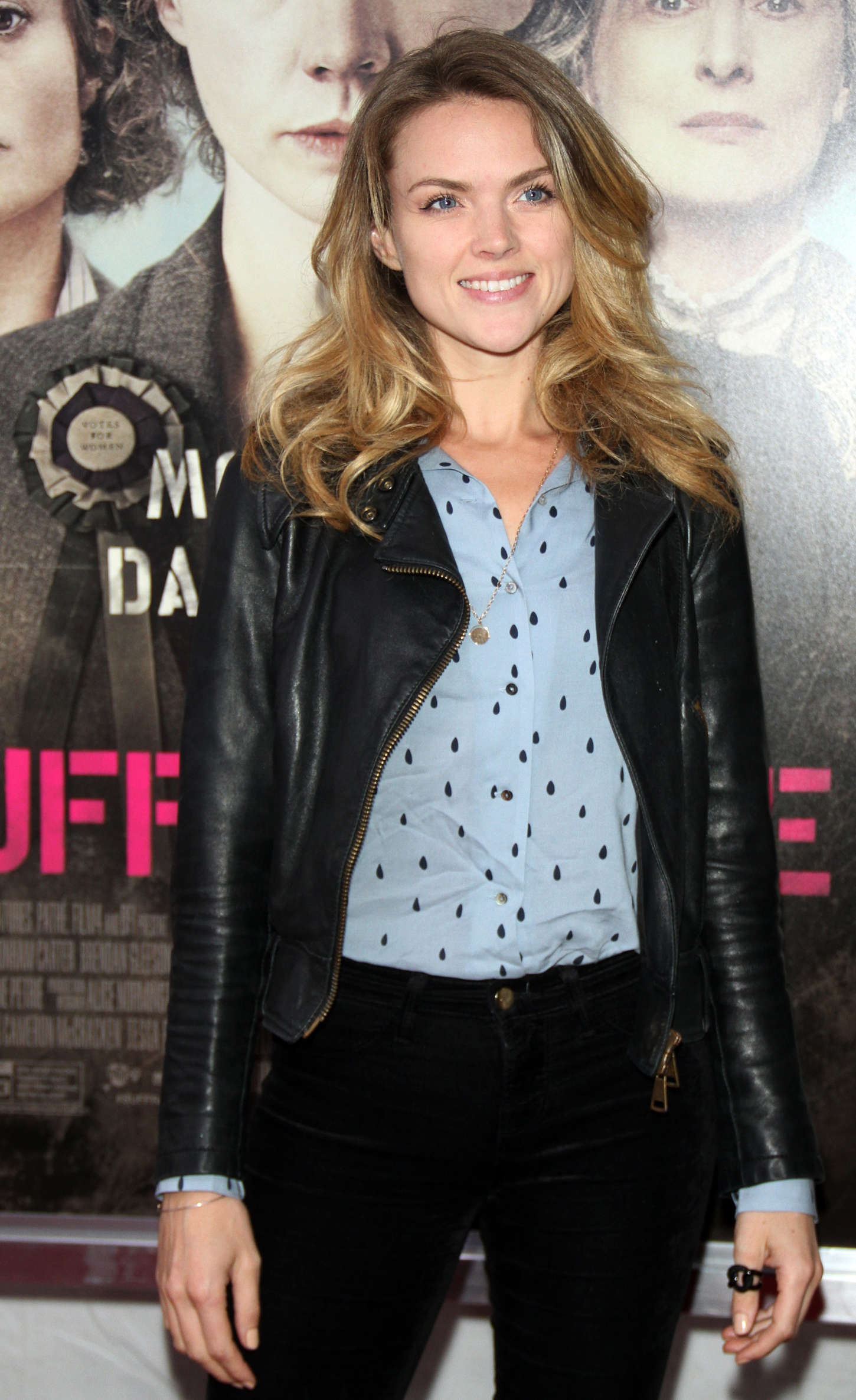 Erin Richards Suffragette Premiere in New York