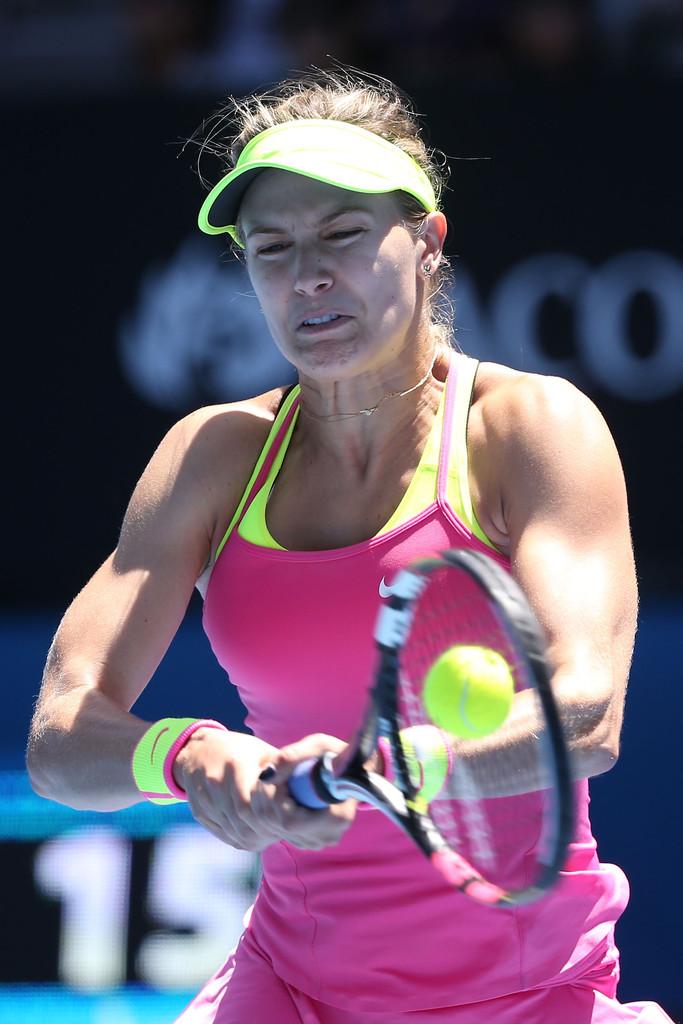Eugenie Bouchard Australian Open in Melbourne Round