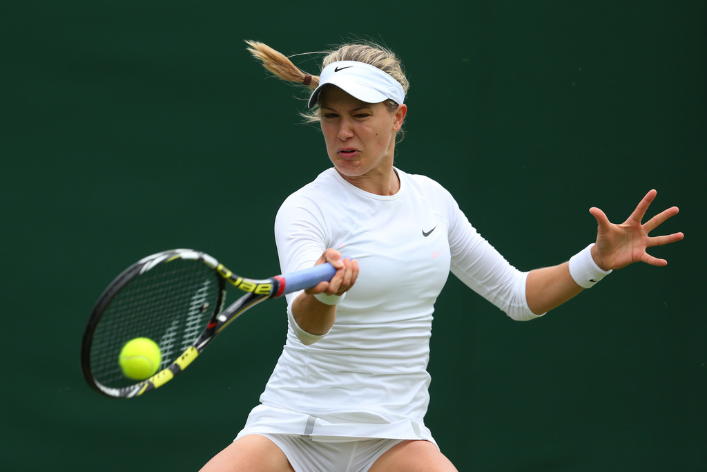 Eugenie Bouchard Wimbledon Day in London