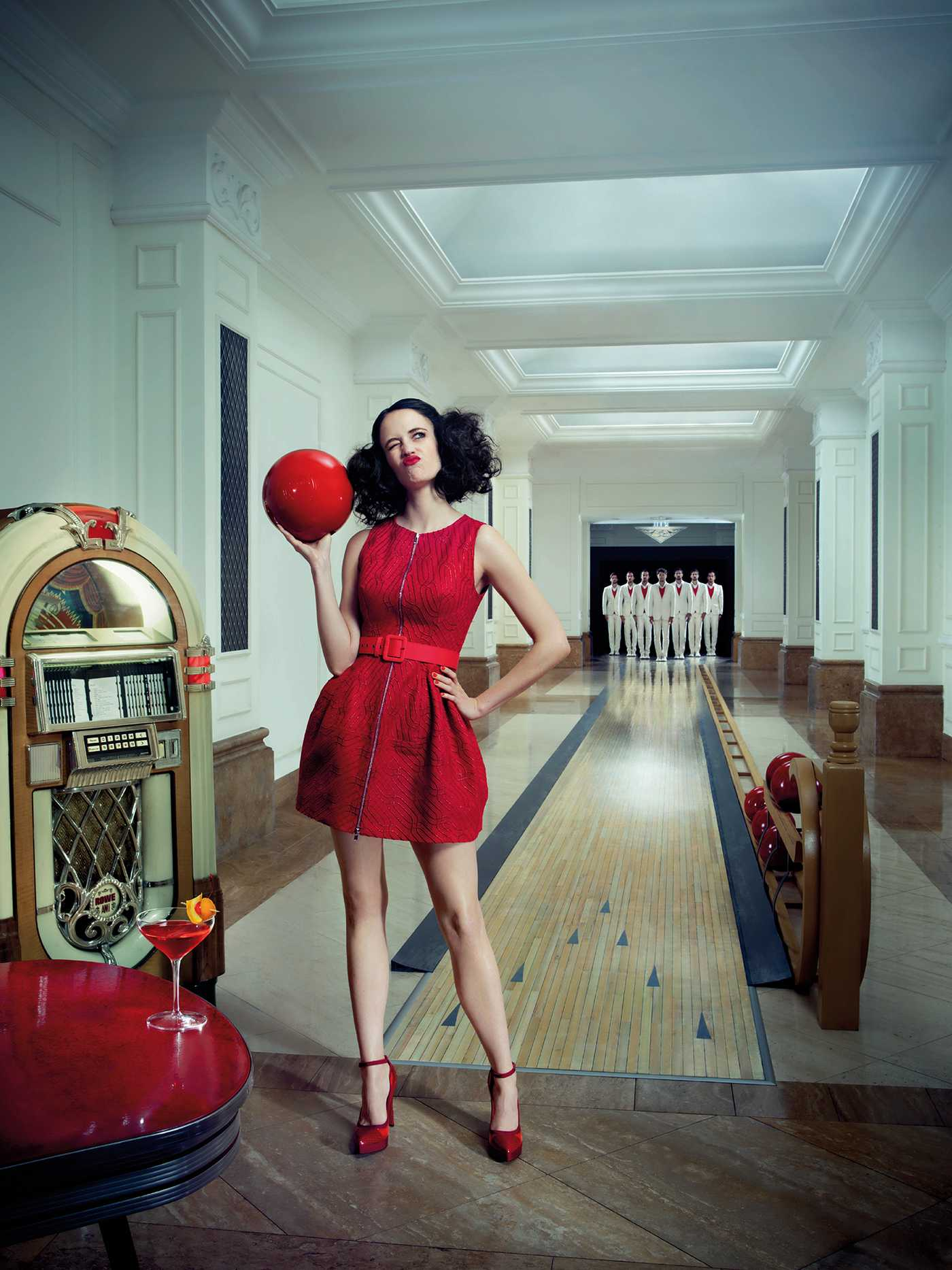 Eva Green Campari Calendar Photoshoot