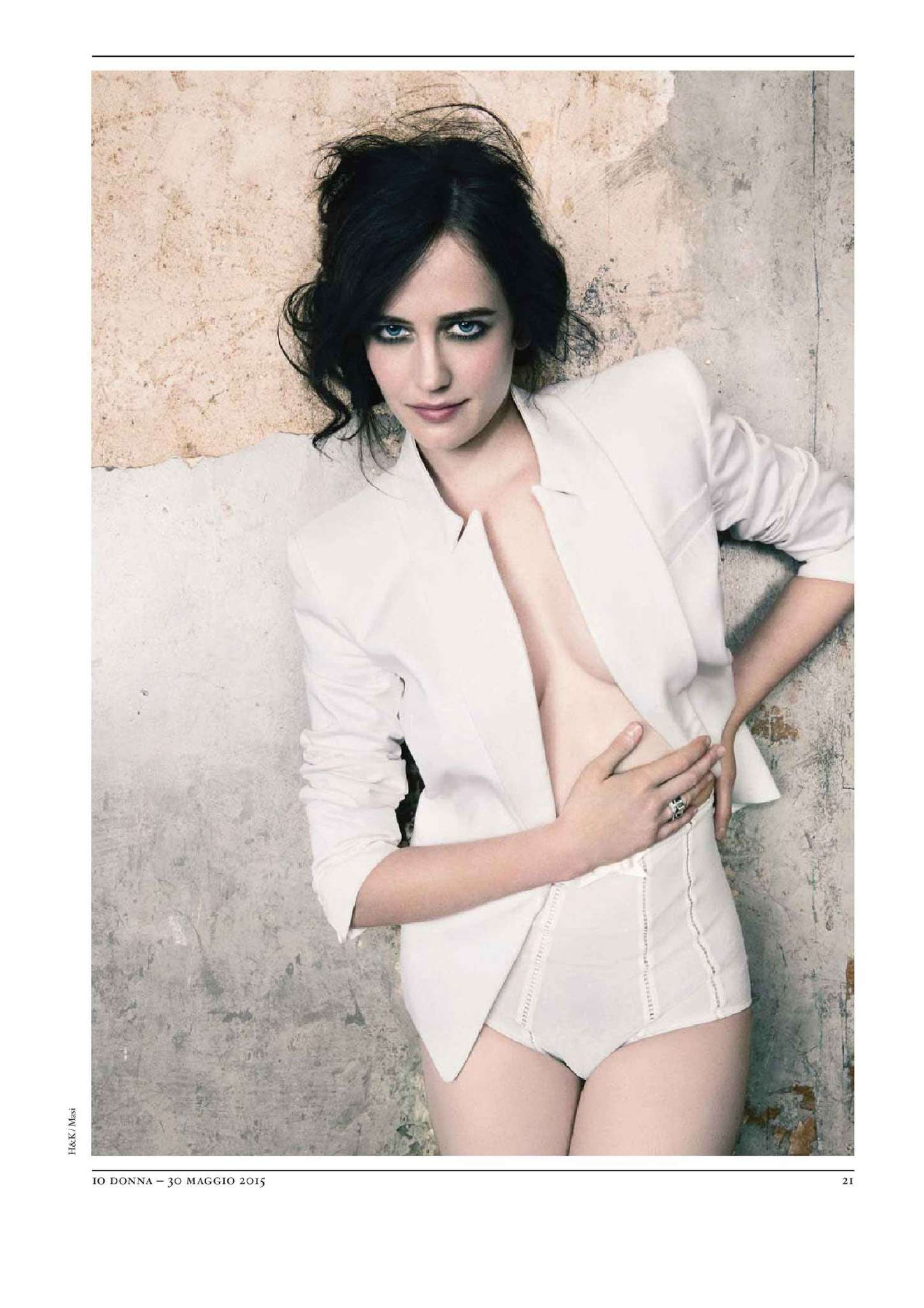 Eva Green Io Donna Magazine